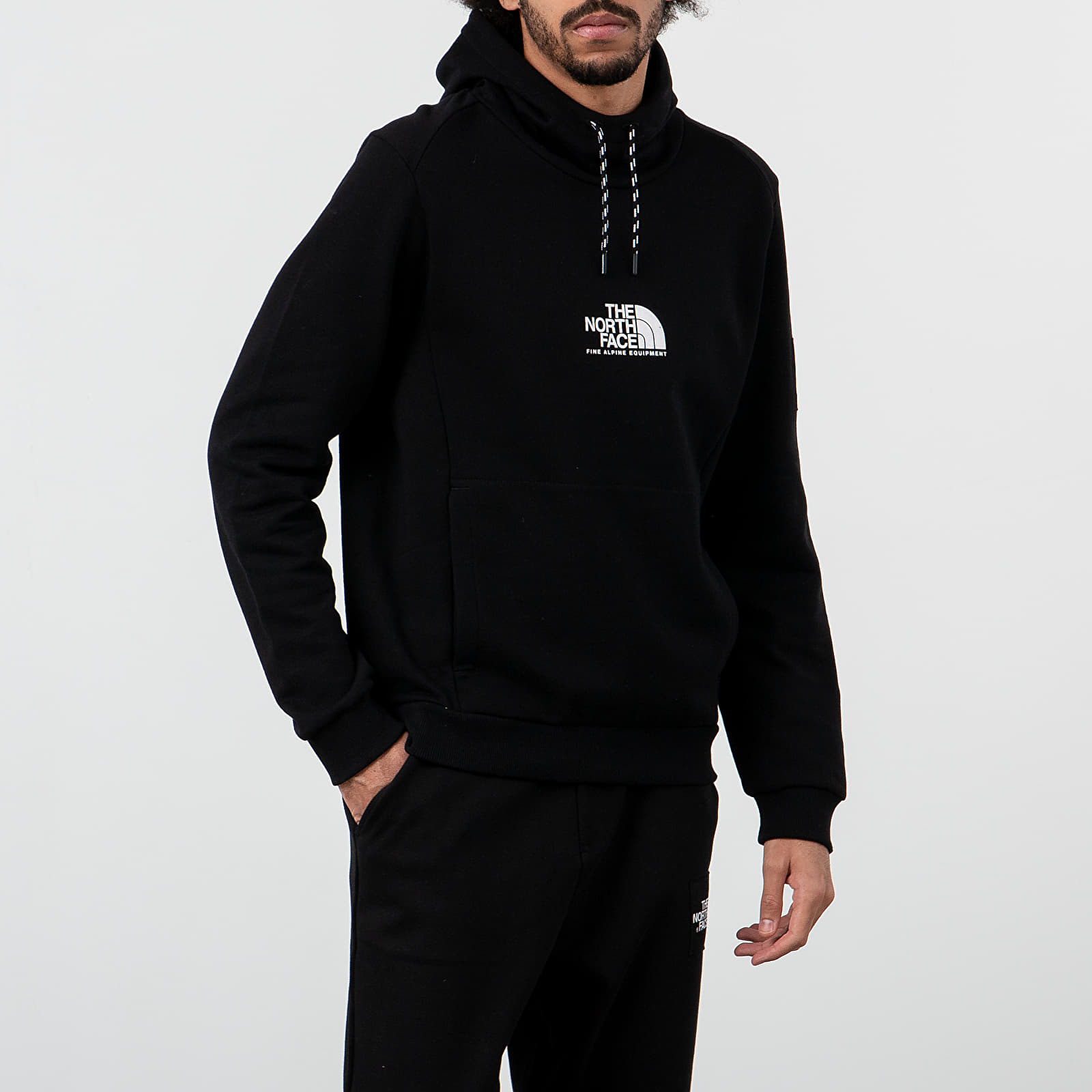 Mikiny a svetry The North Face Fine Alpine Hoodie Black