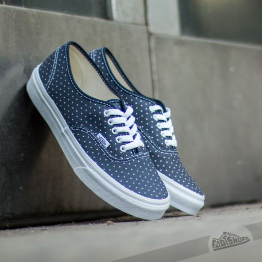 promo codes best website best shoes Vans Authentic Slim Micro Hearts Navy/ Pink/ True White ...