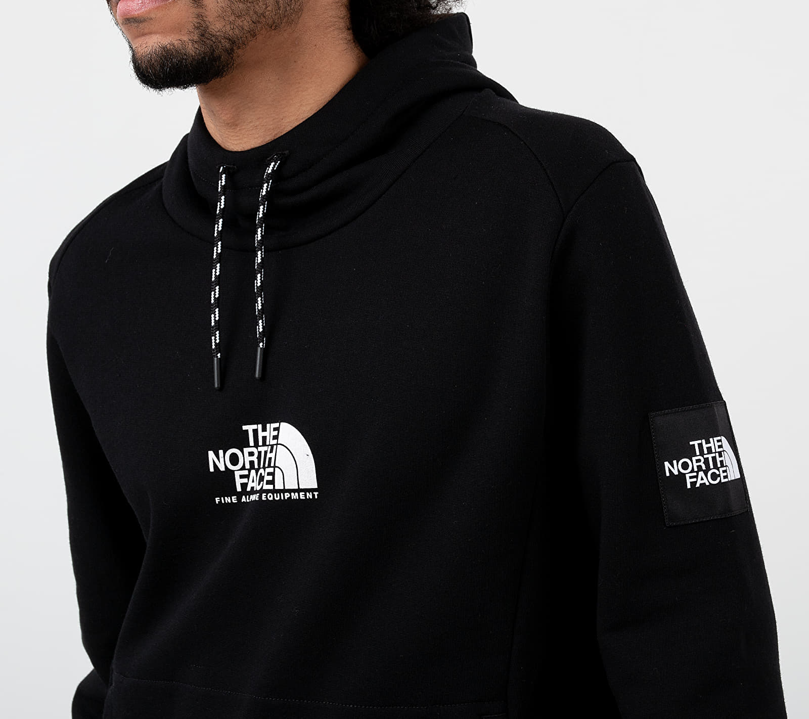 The North Face Fine Alpine Hoodie Black