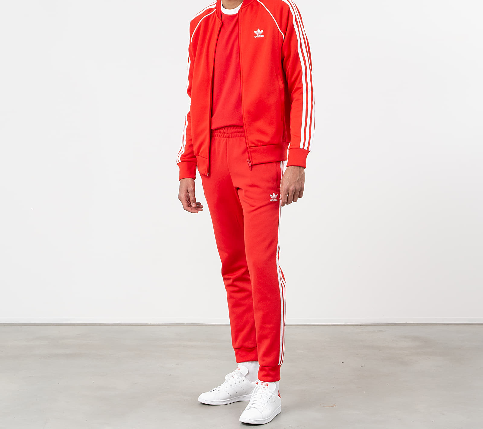 adidas Superstar Track Top Lush Red