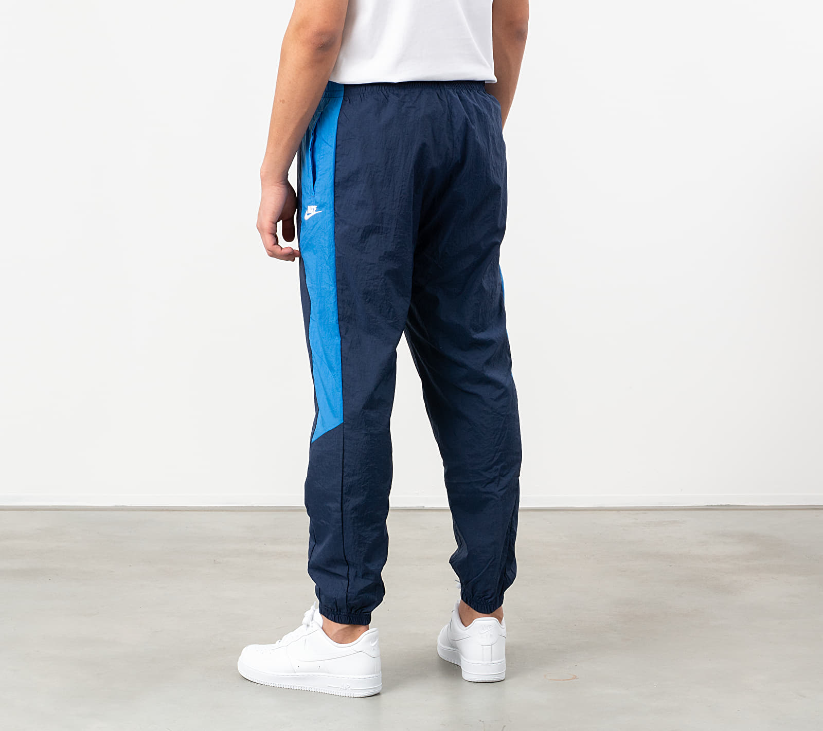 Nike Sportswear Woven CF CB Pants Midnight Navy/ Pacific Blue/ White
