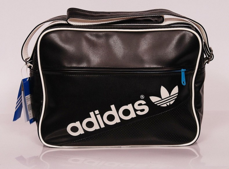 1ca489e861 AC AIRLINE BAG Black White