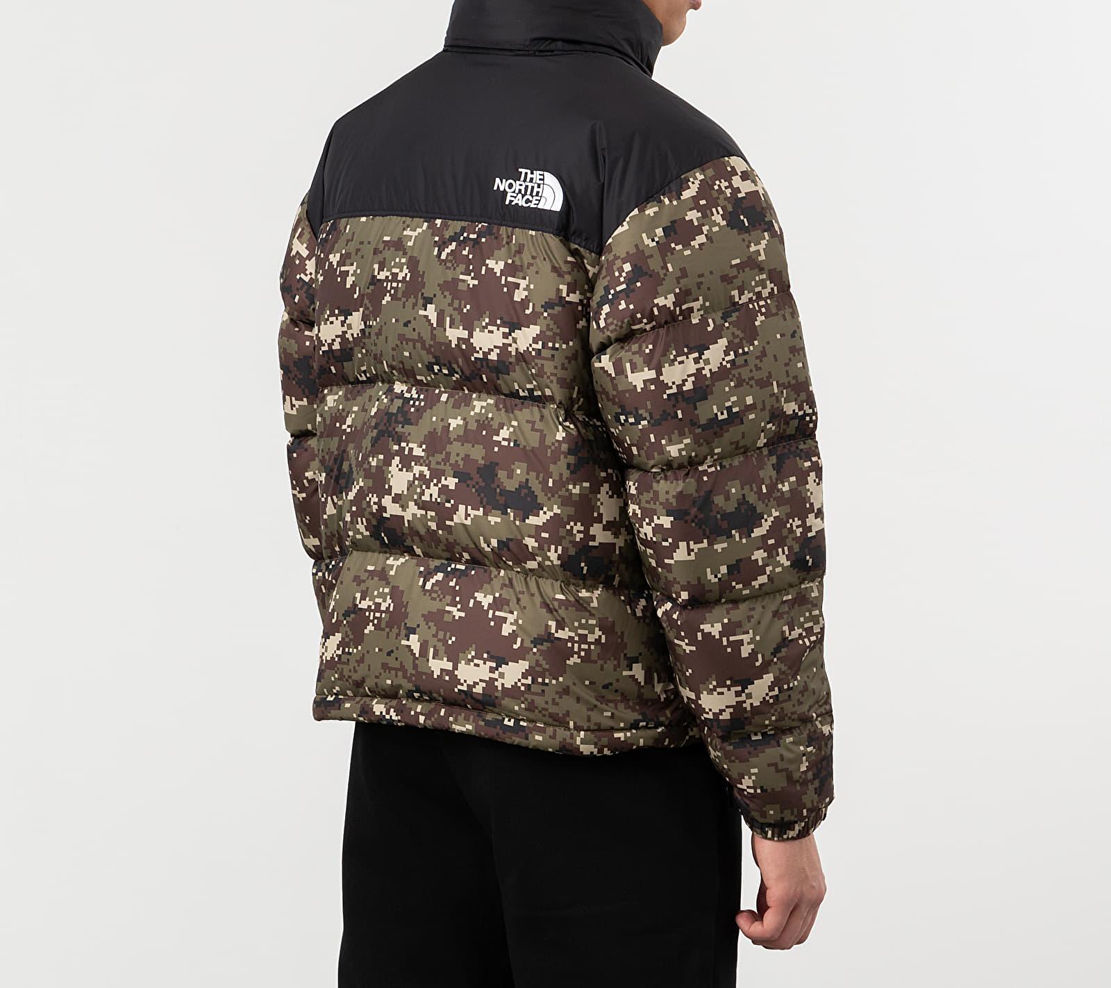 The North Face 1996 Retro Nuptse Jacket Camo, Brown