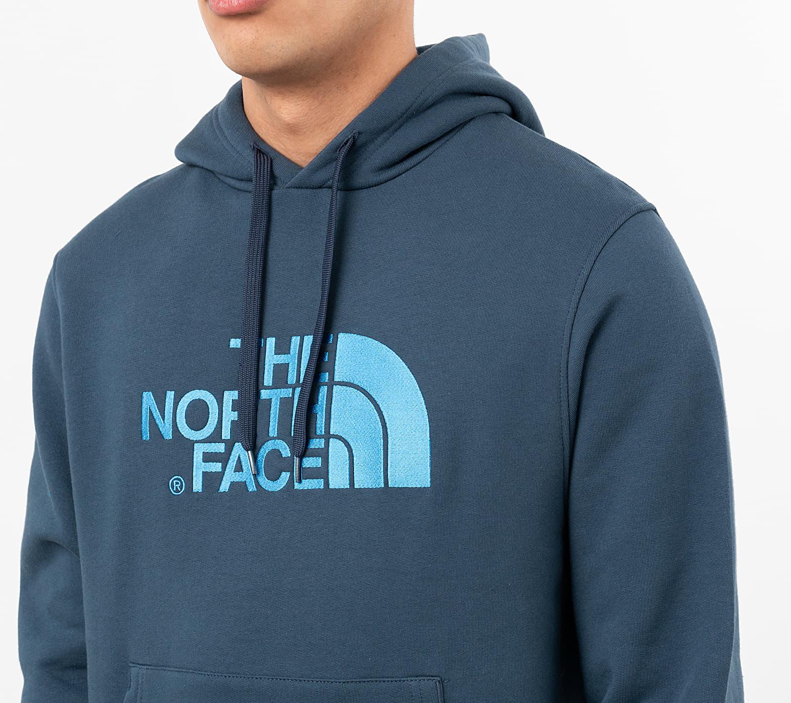 The North Face Drew Peak Hoodie Blue Wing Teal