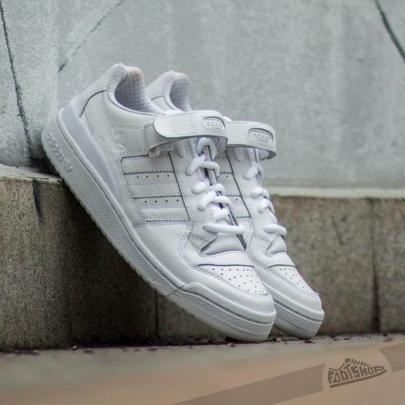 1c2fe35a31fe1 adidas Forum LO RS White  White