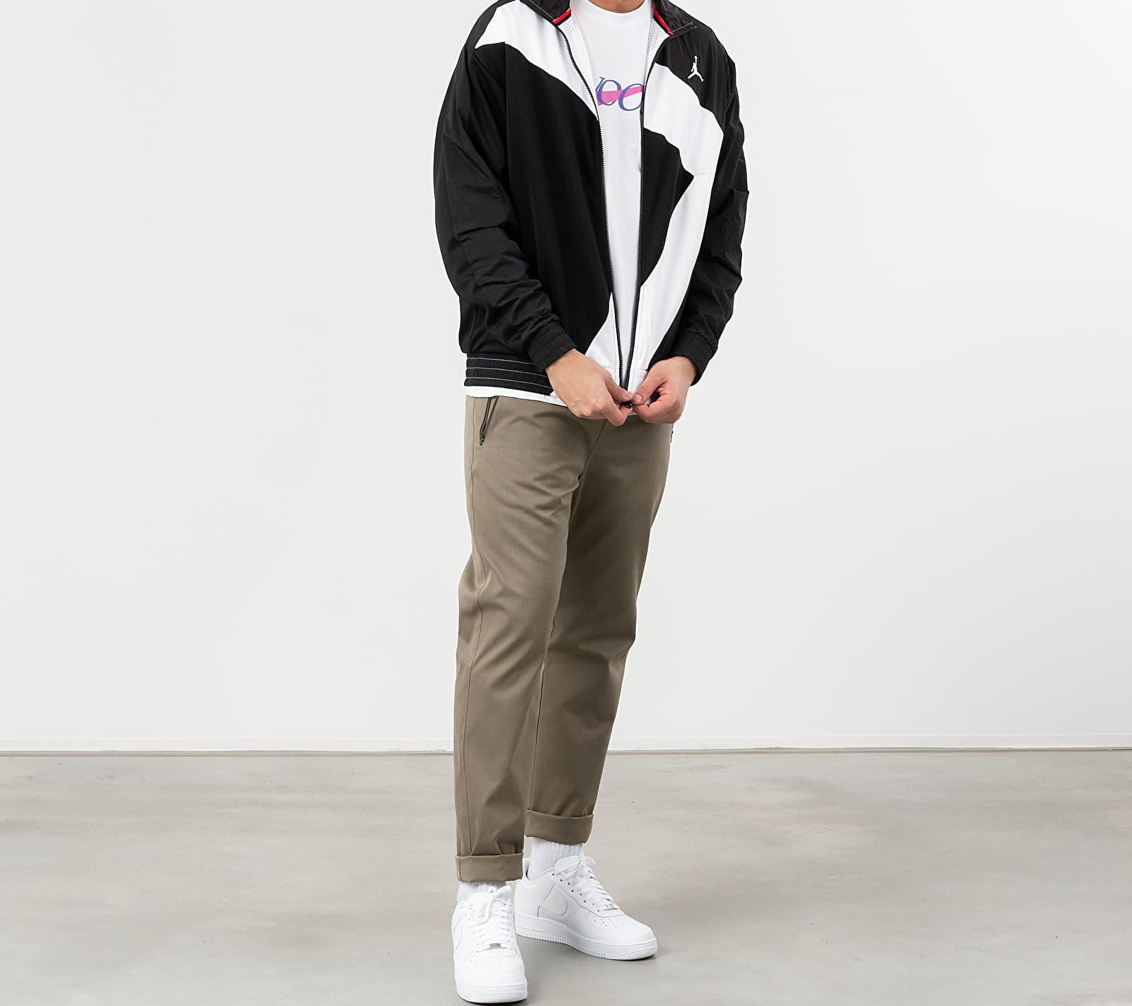 Jordan Wings Diamond Jacket Black/ Black/ White/ White