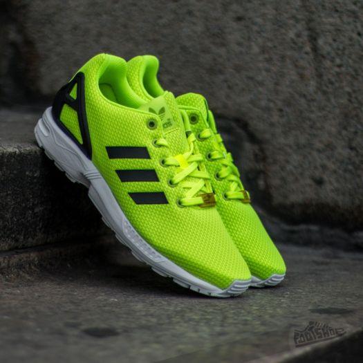 hot sales ff91d f7d55 adidas ZX Flux K Yellow/ Core Black/ Ftw White | Footshop