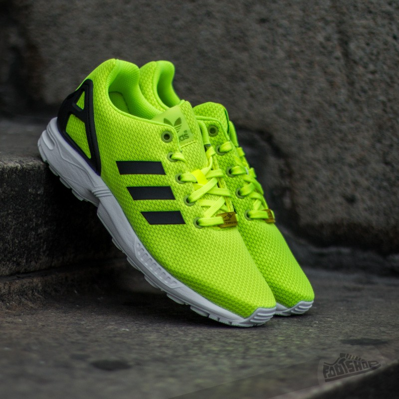 adidas ZX Flux K Yellow Core Black Ftw White   Footshop