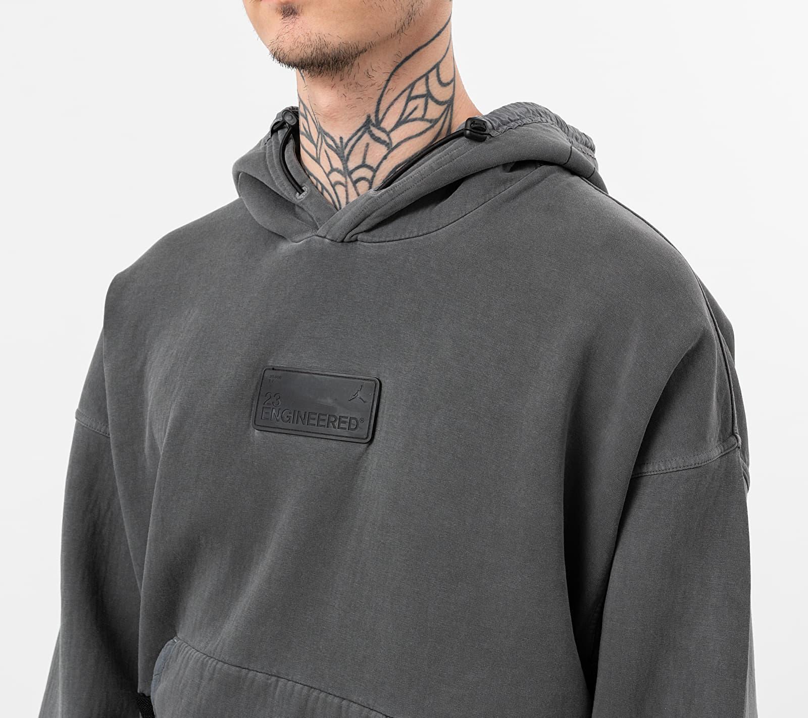 Jordan 23 Engineered Pullover Hoodie Black/ Black