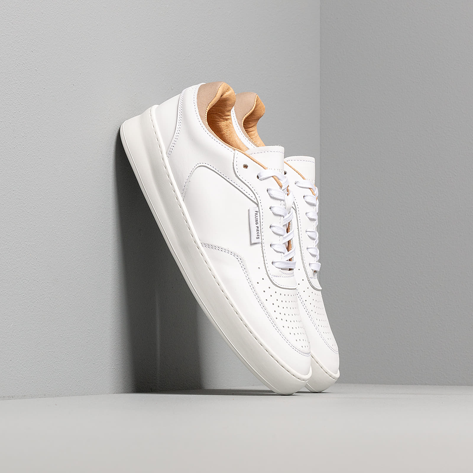 Chaussures et baskets homme Filling Pieces Spate Plain Phase All White