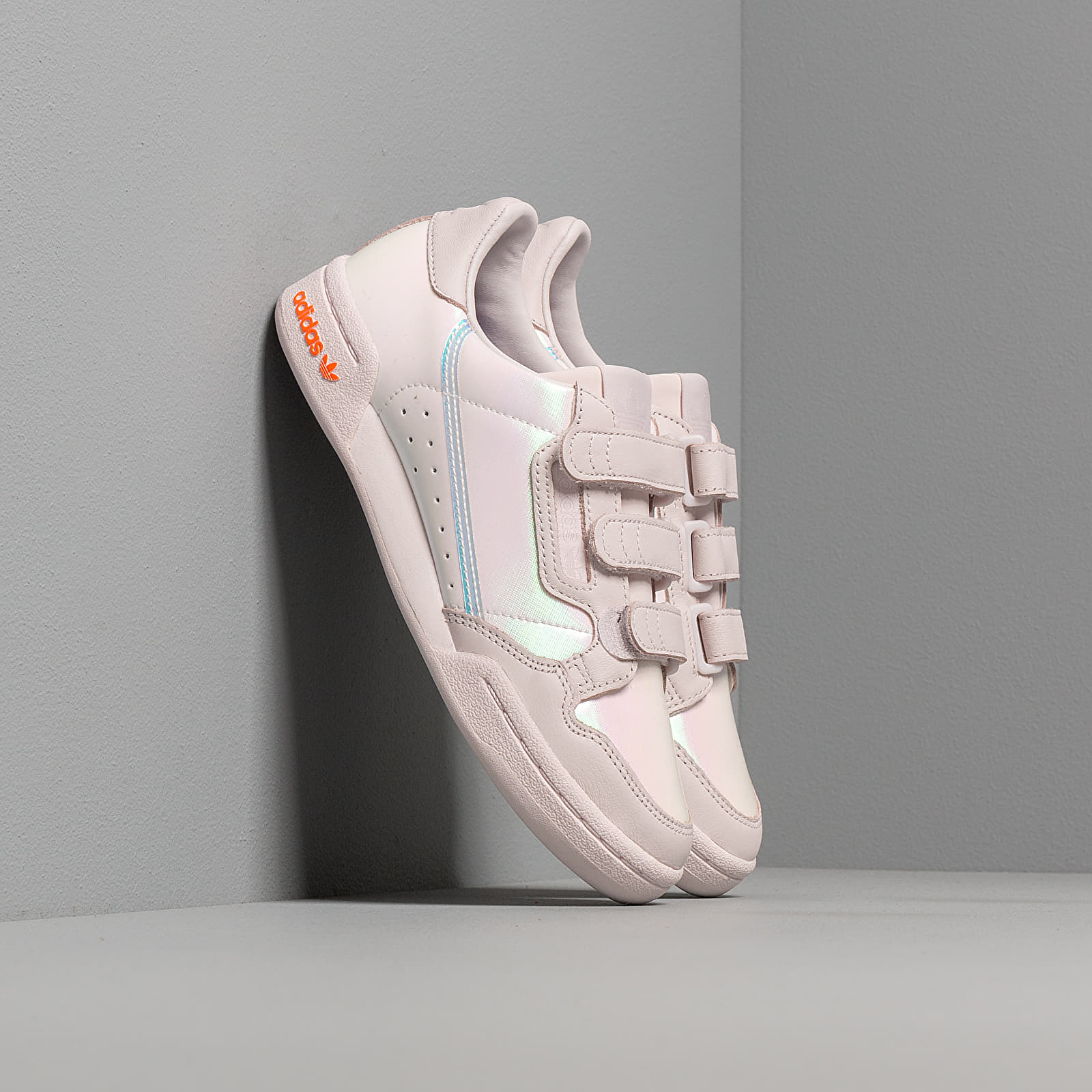 Γυναικεία παπούτσια adidas Continental 80 W Strap Orchid Tint/ Solar Orange/ Energy Ink