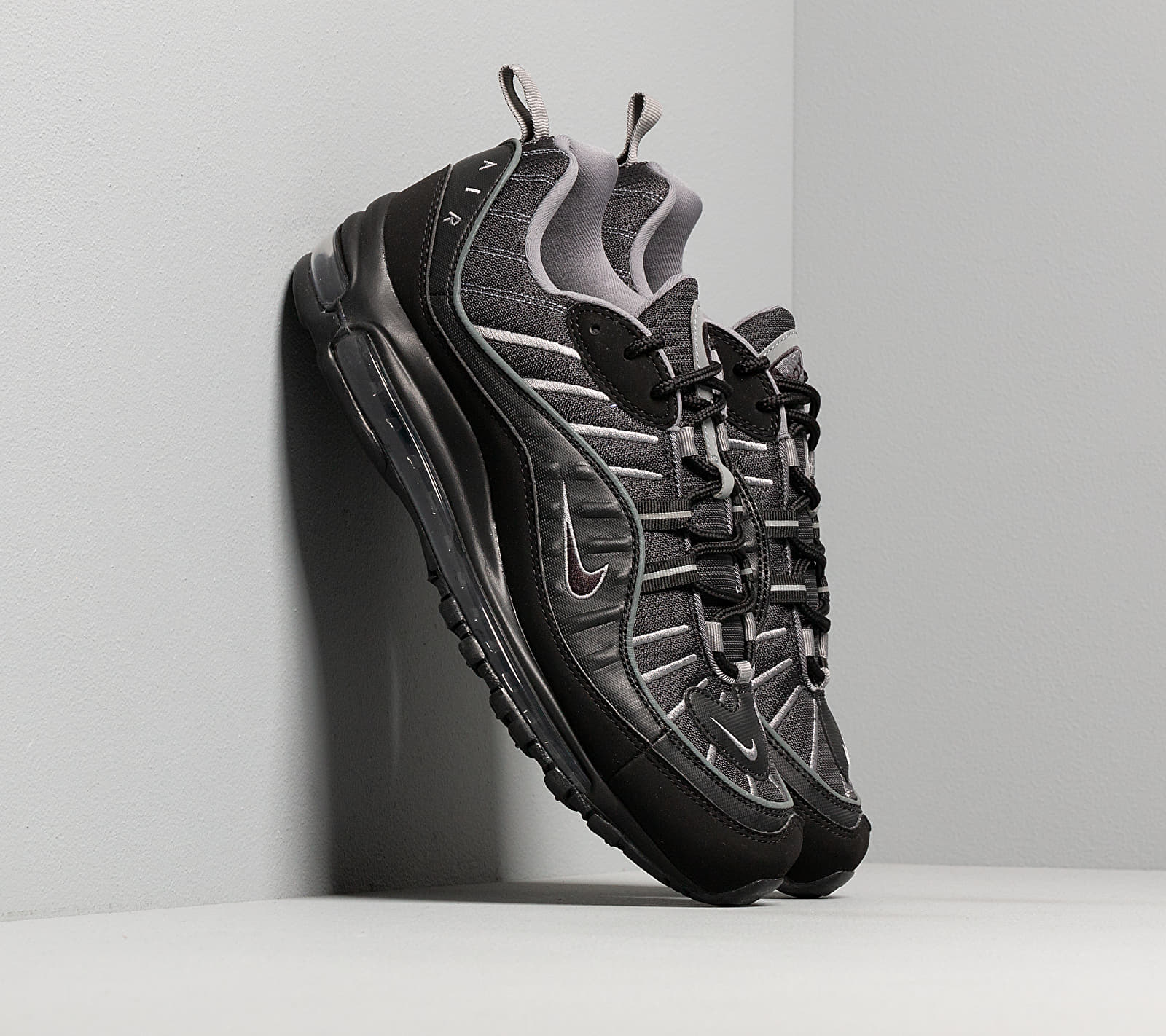 Nike Air Max 98 Black/ Black-Smoke Grey-Vast Grey EUR 44.5
