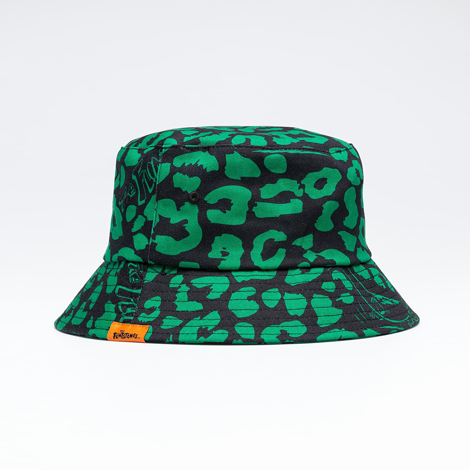 Lazy OAF x The Flinstones Dino Leopard Bucket Hat