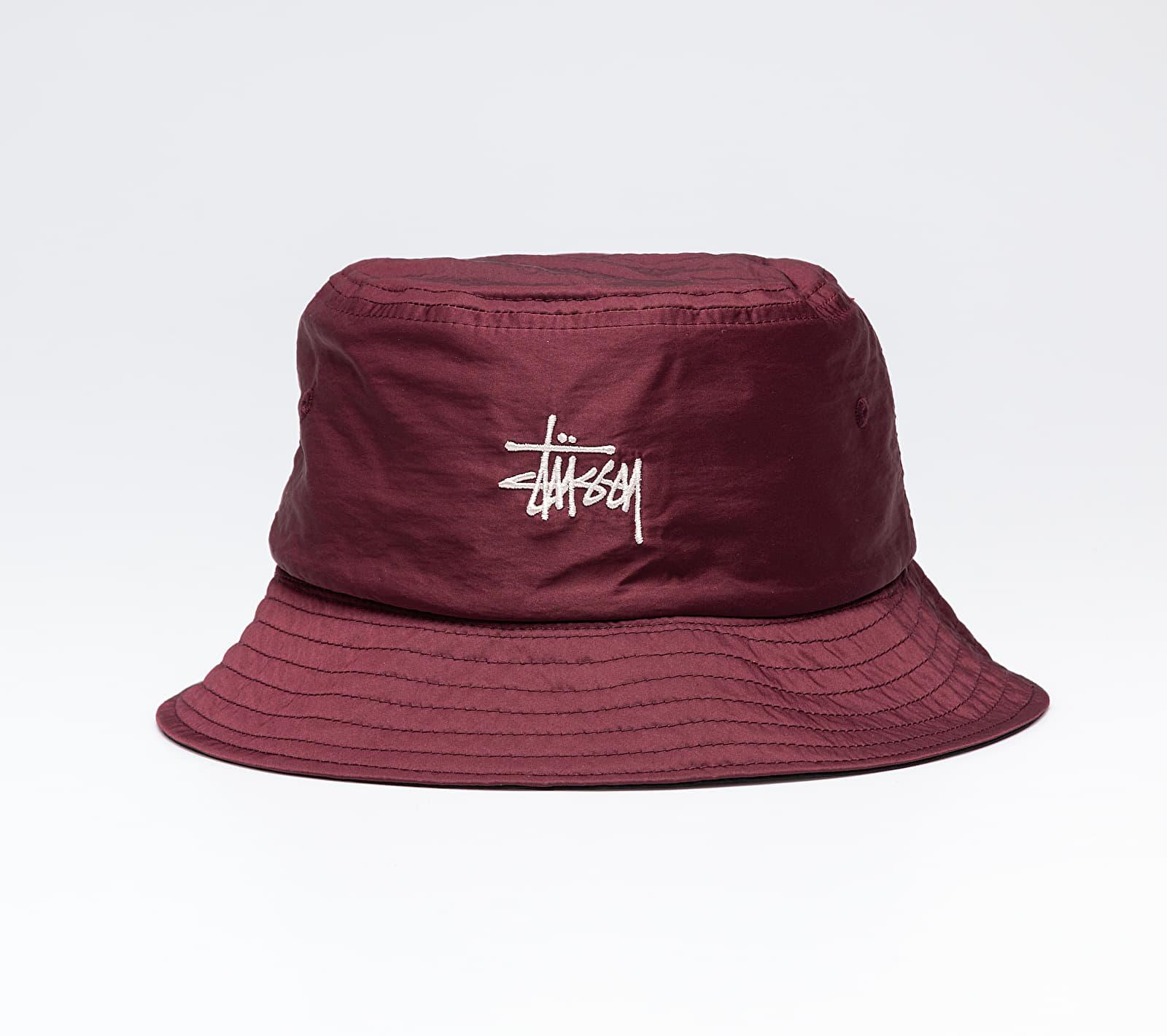 Stüssy Reversible Bucket Hat Berry, Red