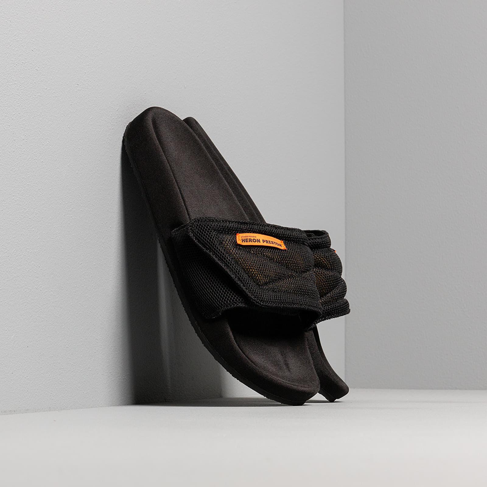 Încălțăminte și sneakerși pentru bărbați Heron Preston Slider Black