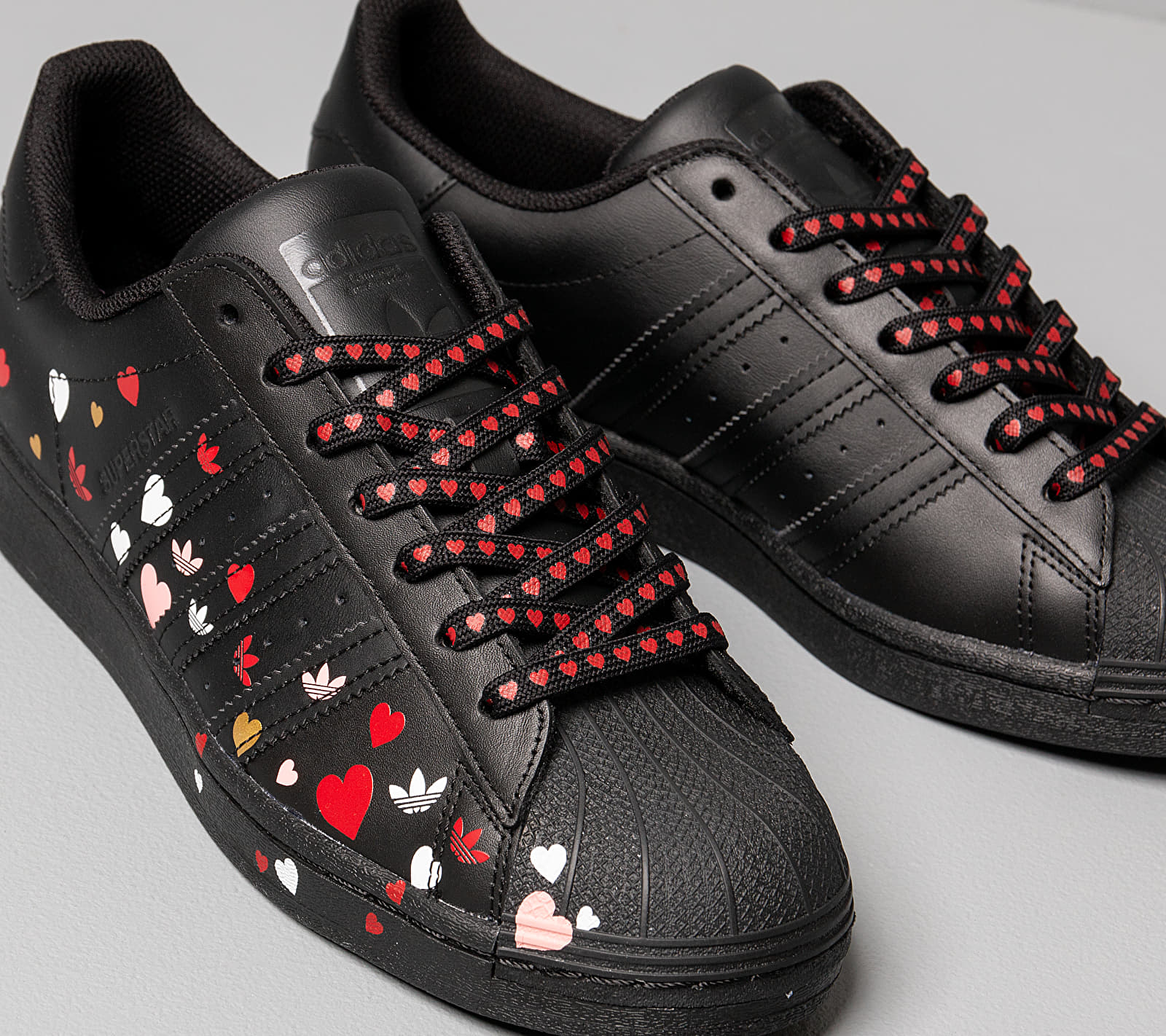 adidas Superstar W Core Black/ Ftw White/ Glow Pink EUR 40