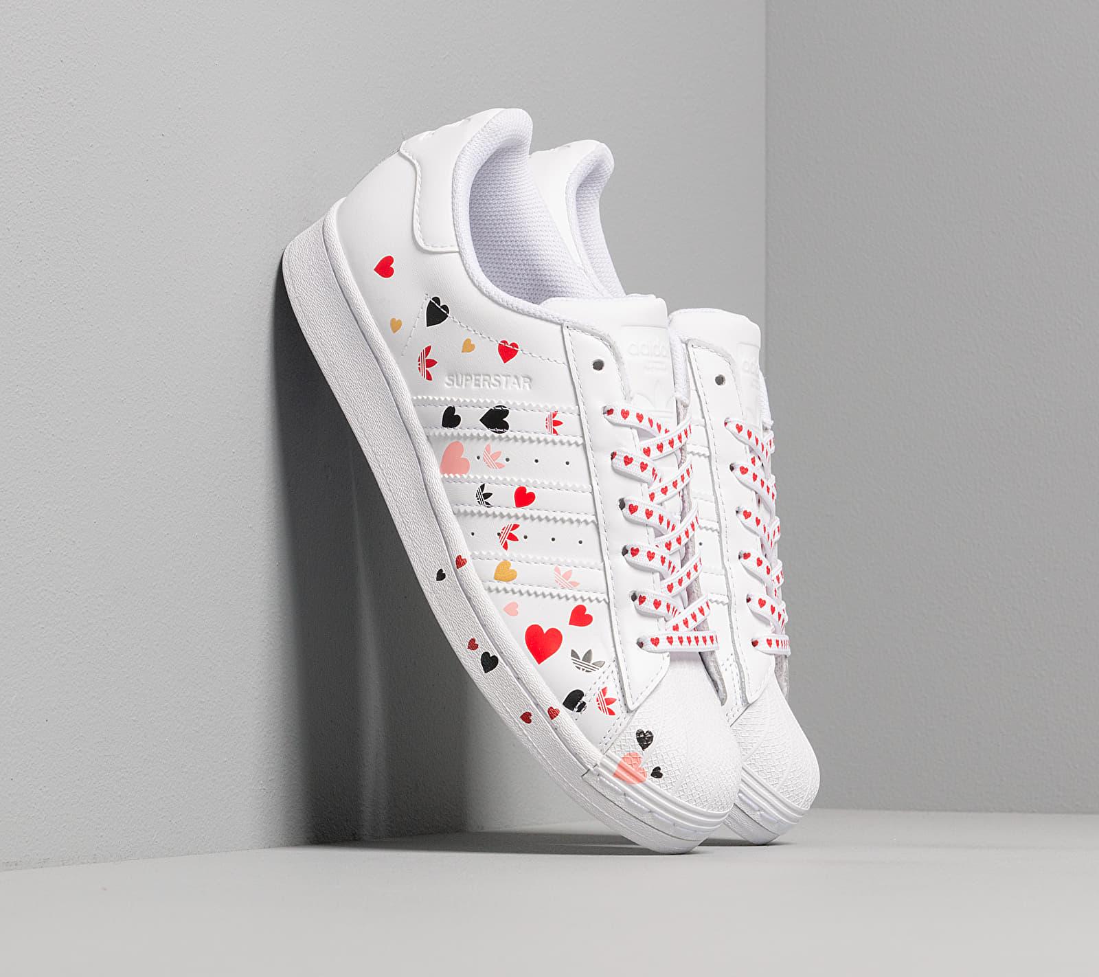 adidas Superstar W Ftw White/ Core Black/ Glow Pink EUR 38