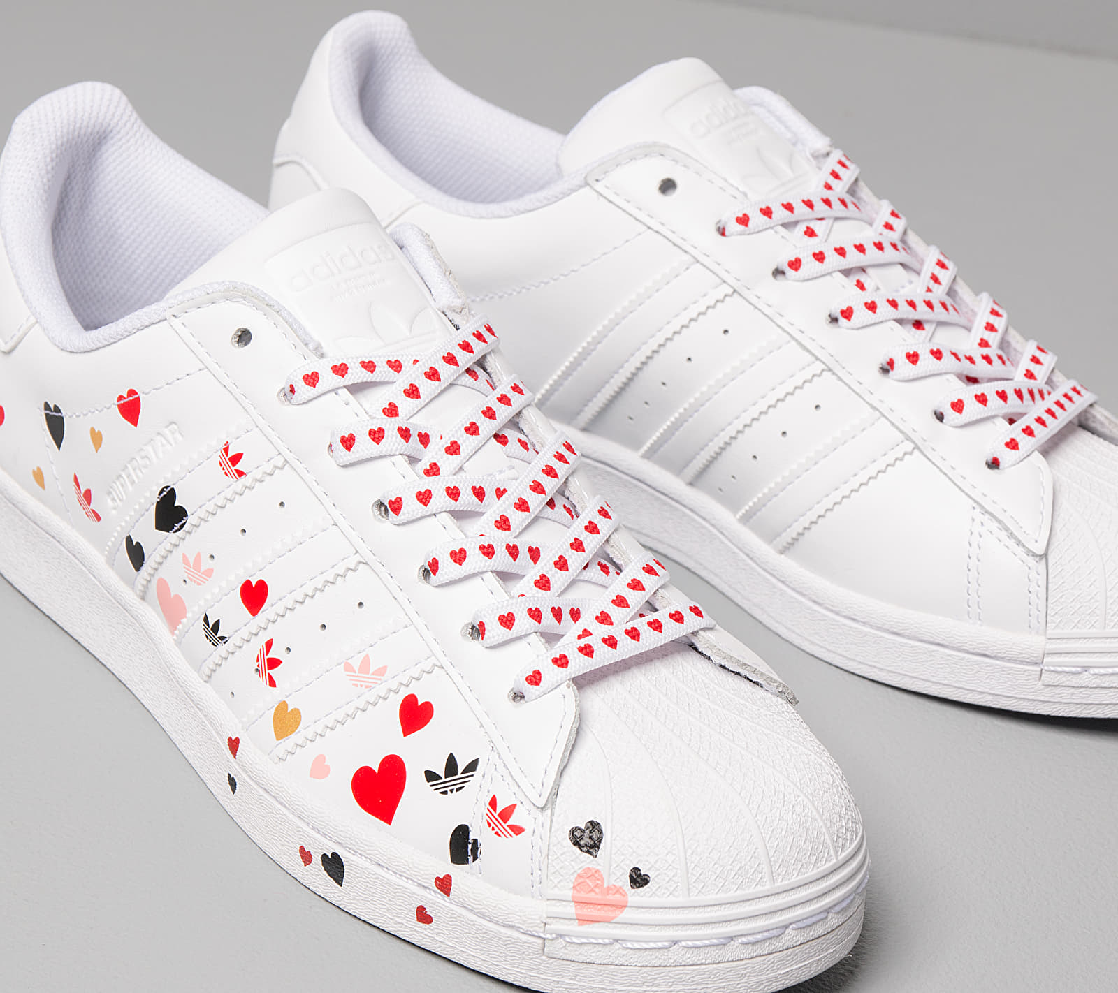 adidas Superstar W Ftw White/ Core Black/ Glow Pink EUR 40 2/3