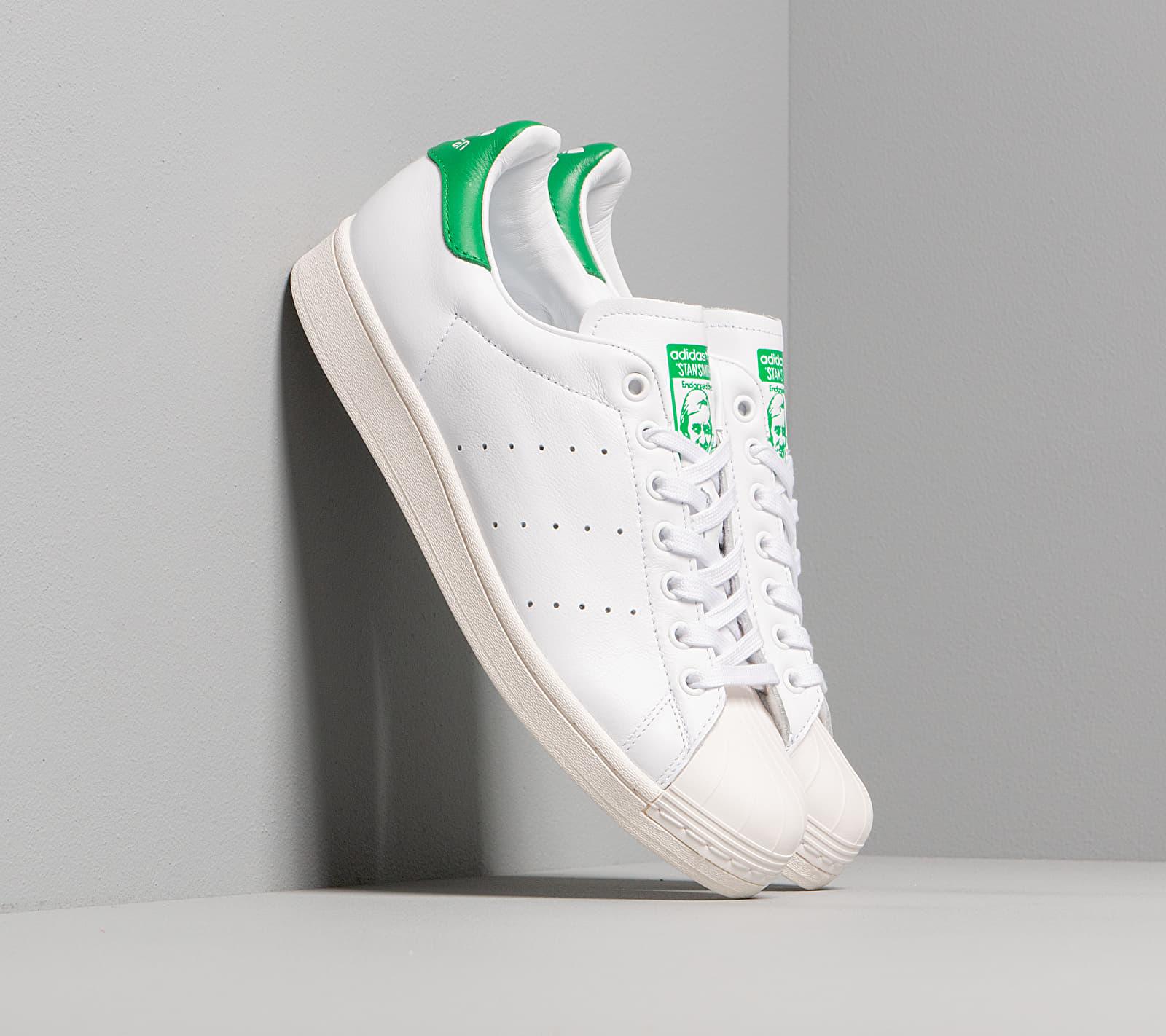 adidas Superstan Ftw White/ Ftw White/ Green EUR 38 2/3