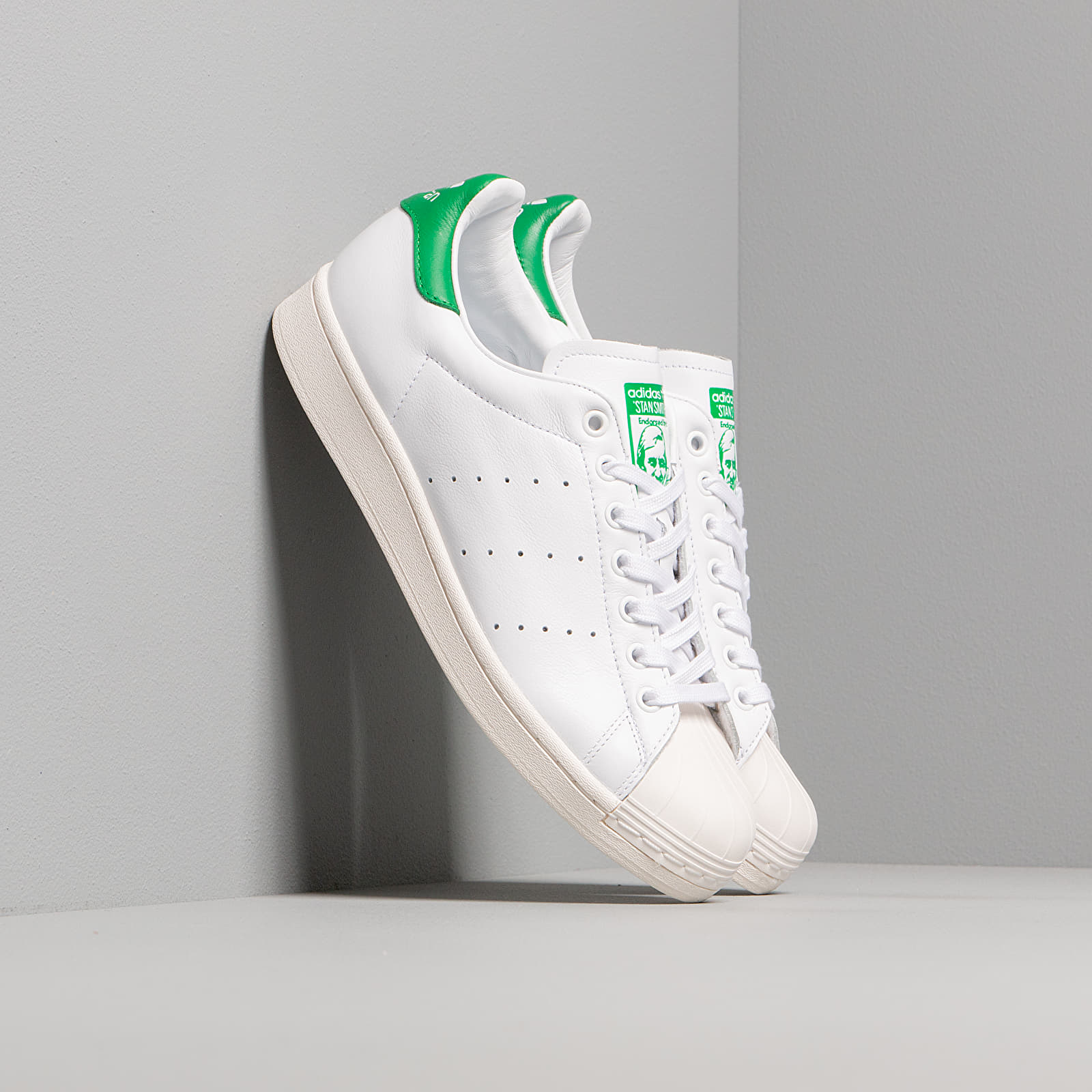 Men's shoes adidas Superstan Ftw White/ Ftw White/ Green