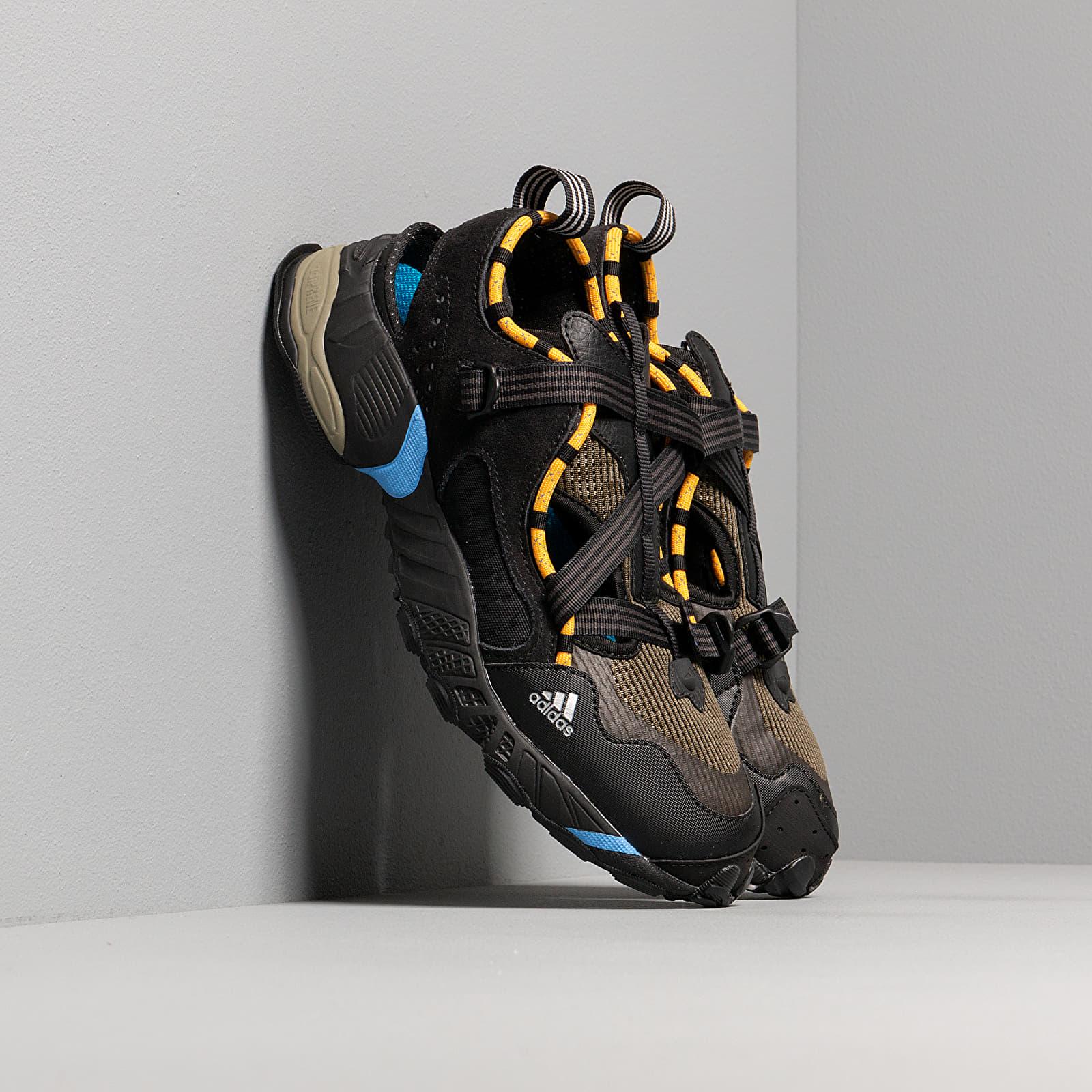 Pánské tenisky a boty adidas Novaturbo H6100LT Core Black/ Active Gold/ Mesa