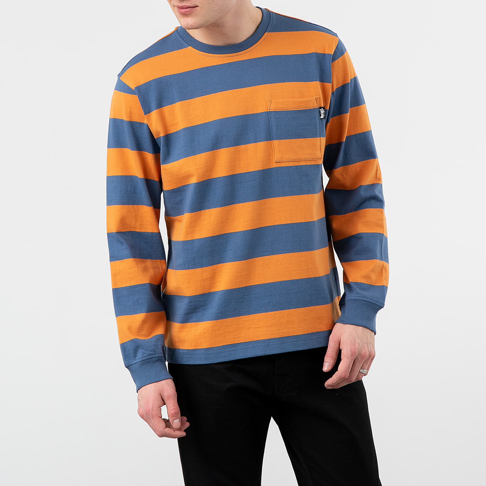 Stüssy Classic Stripe Long Sleeve Tee