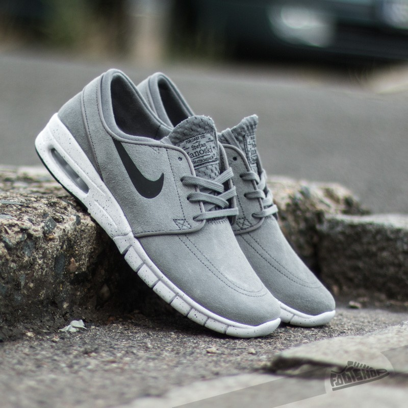 7f14db4970 Nike Stefan Janoski Max L Cool Grey/Black-White | Footshop