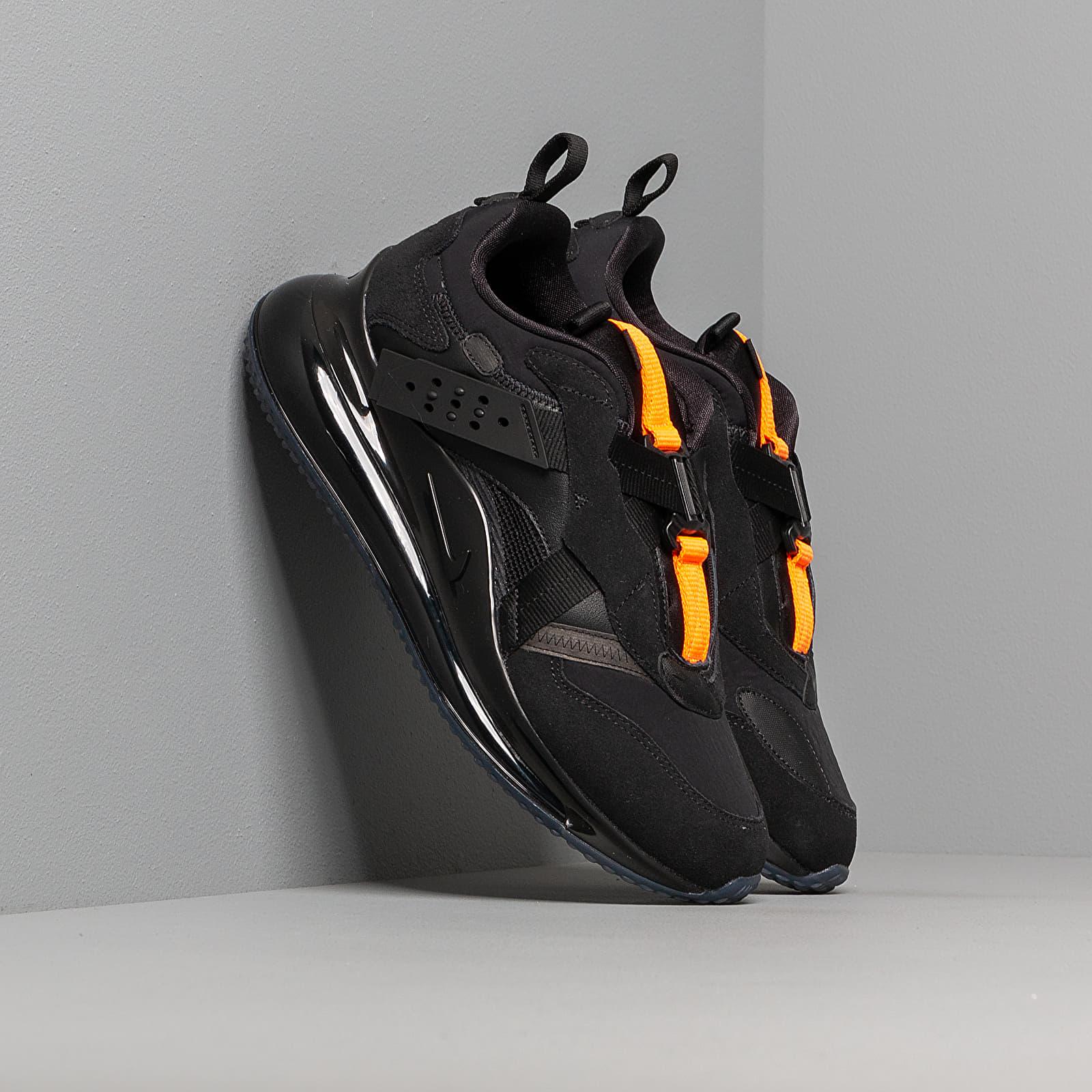 Nike Air Max 720 Slip Obj Black Black Total Orange | Footshop