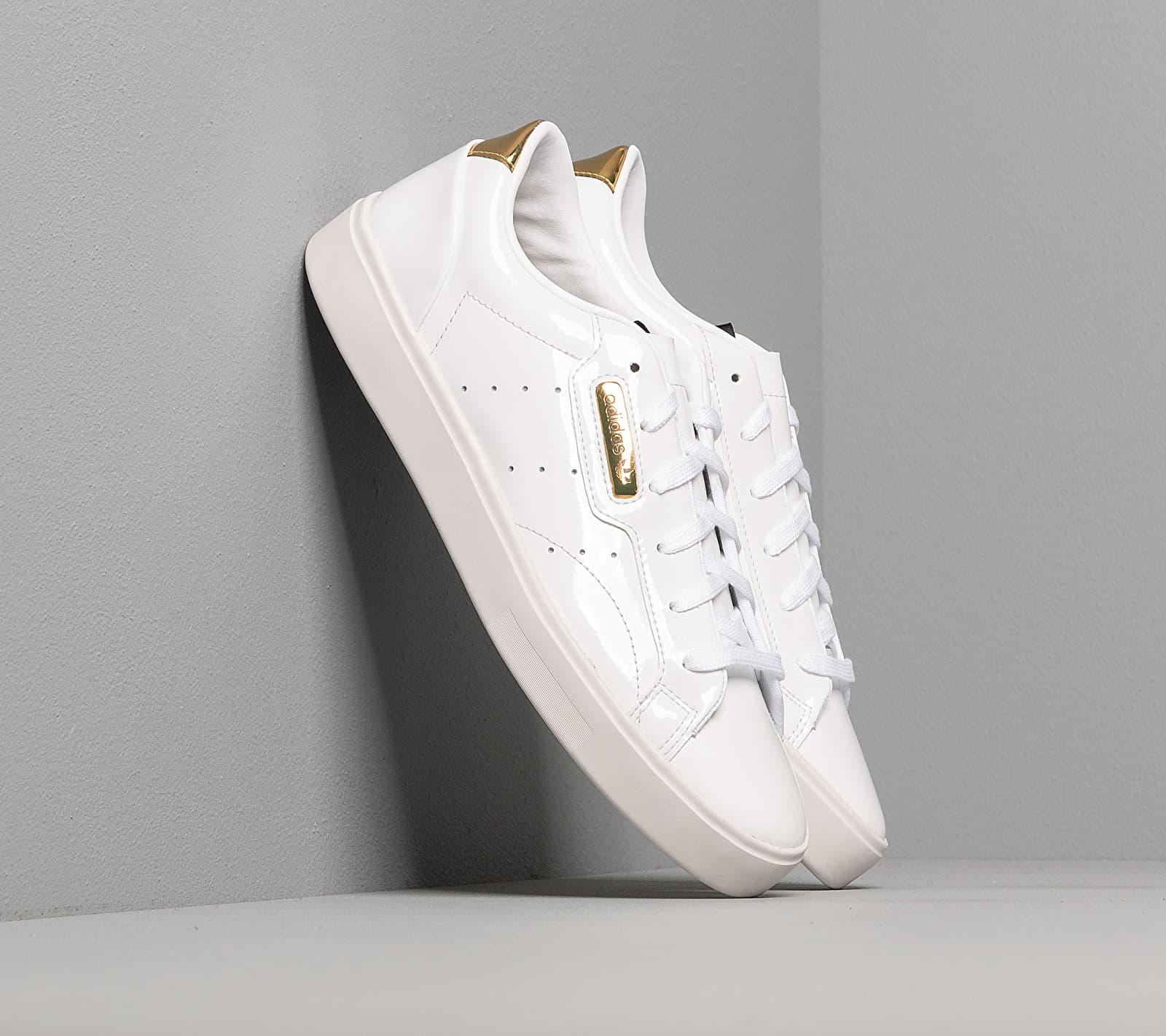 adidas Sleek W Ftw White/ Crystal White/ Gold Metalic EUR 38