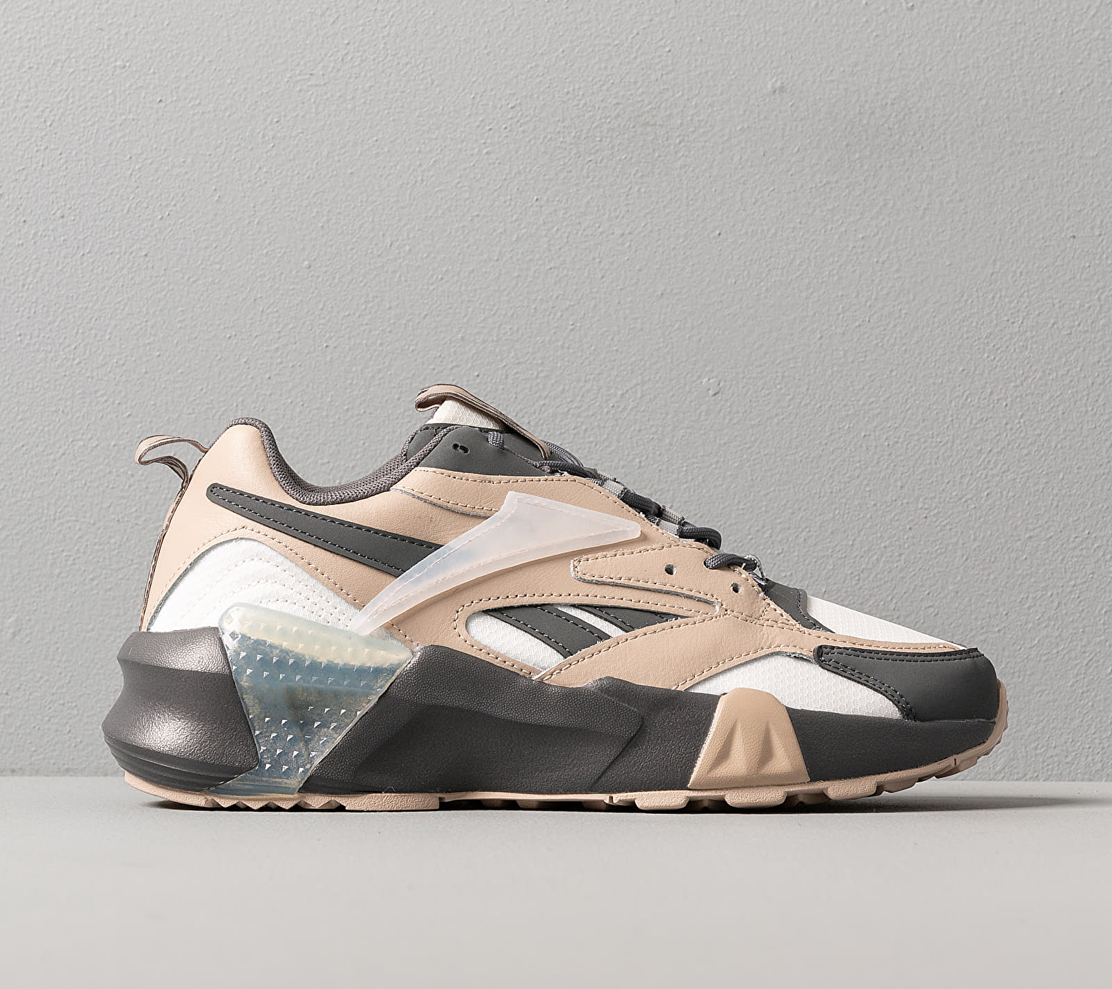 Reebok Aztrek Double Mix Cold Grey 7/ Modern Beige/ Chalk, Gray