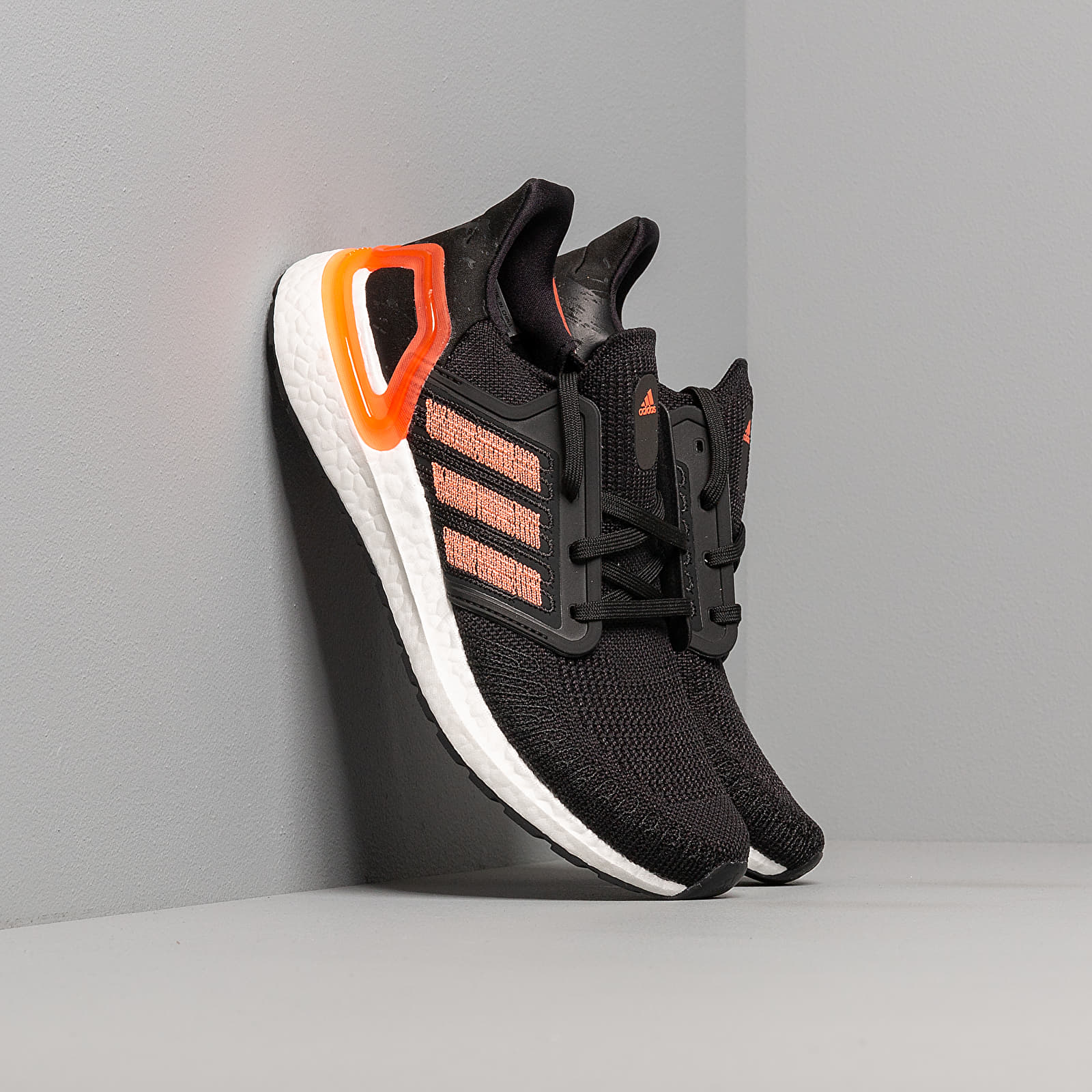 Women's shoes adidas UltraBOOST 20 W Core Black/ Signature Coral/ Ftw White