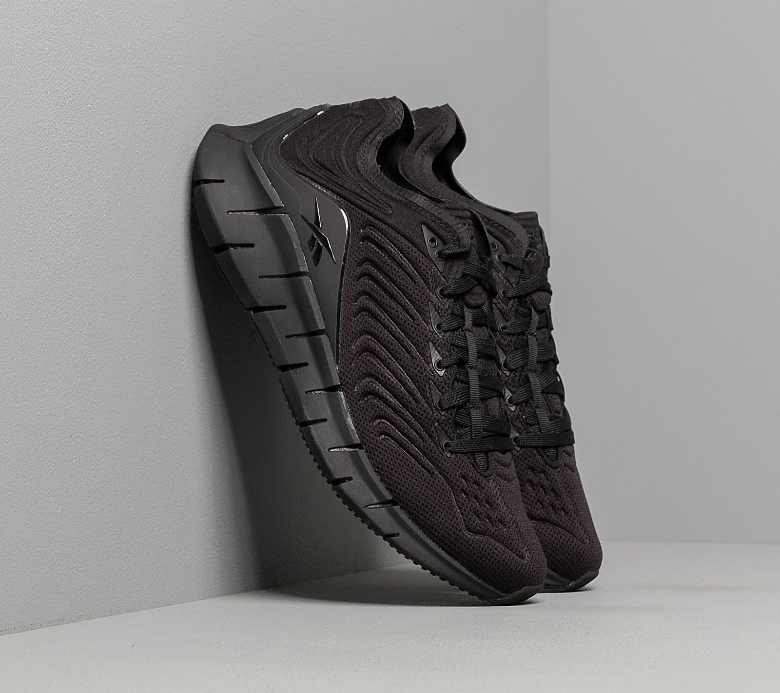 Reebok Zig Kinetica Black/ Black/ True Grey 7 EUR 40.5