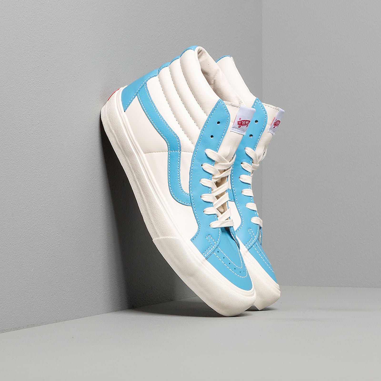 Pánské tenisky a boty Vans Sk8-Hi Reissue Vl (Leather) Bonnie Blue/ Marshmallow