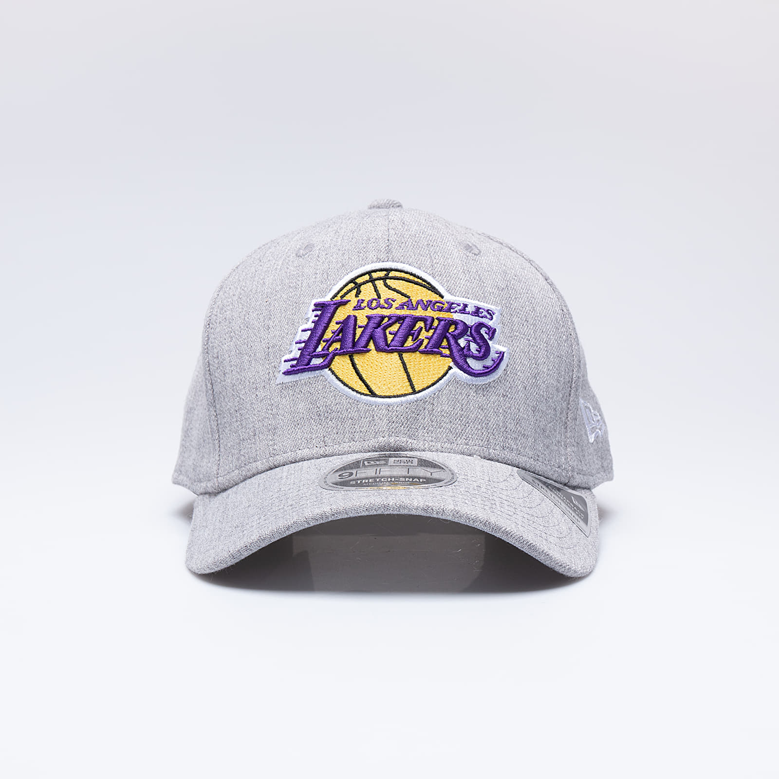 New Era 9FIFTY NBA Heather Base Los Angeles Lakers Stretch Cap