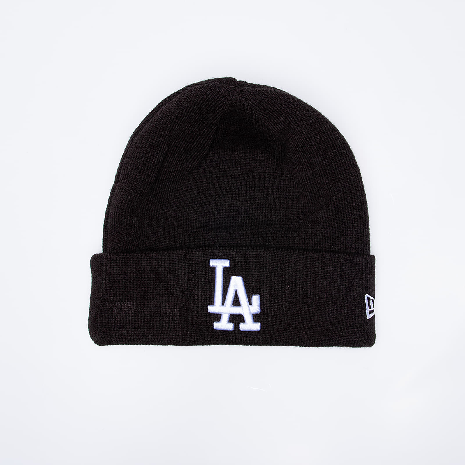 Mützen New Era MLB Essential Cuff Los Angeles Dodgers Beanie Black