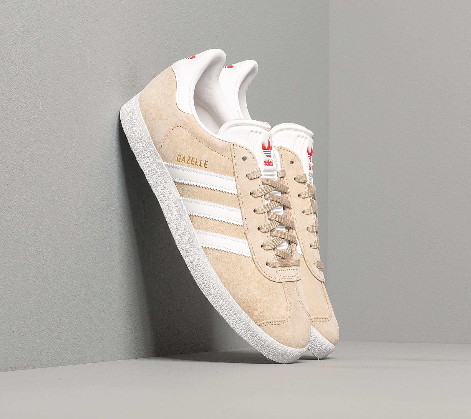 adidas Gazelle W Savanna/ Ftw White/ Glow Red EUR 37 1/3