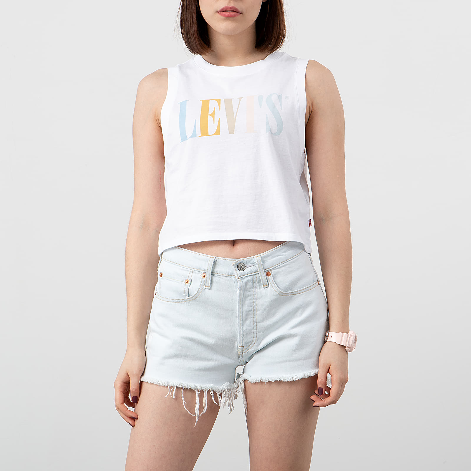 T-shirts Levi's ® The Perfect 90's Tee White