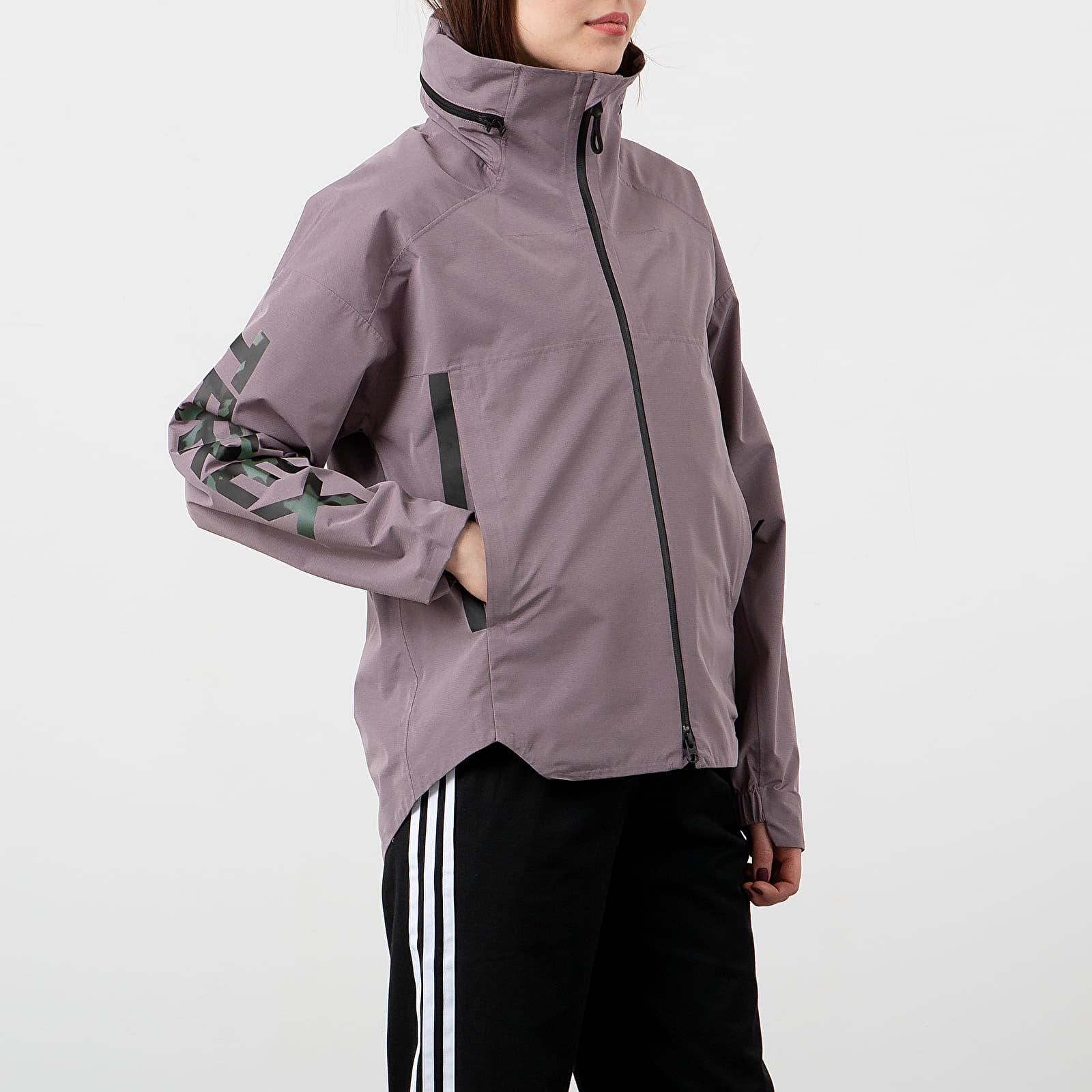 Coach Jackets adidas Terrex Myshelter 3in1 Jacket Legacy Purple/ Multicolor