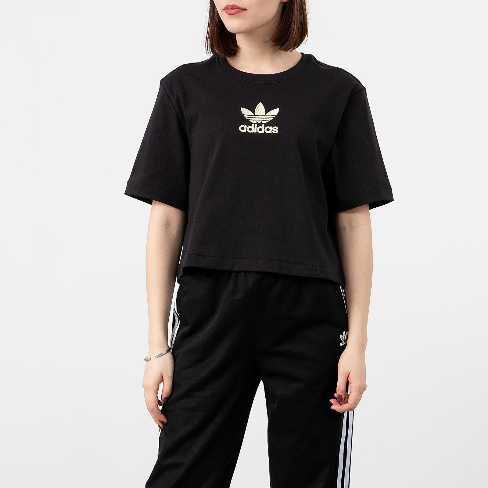 T-shirts adidas LG Tee Black