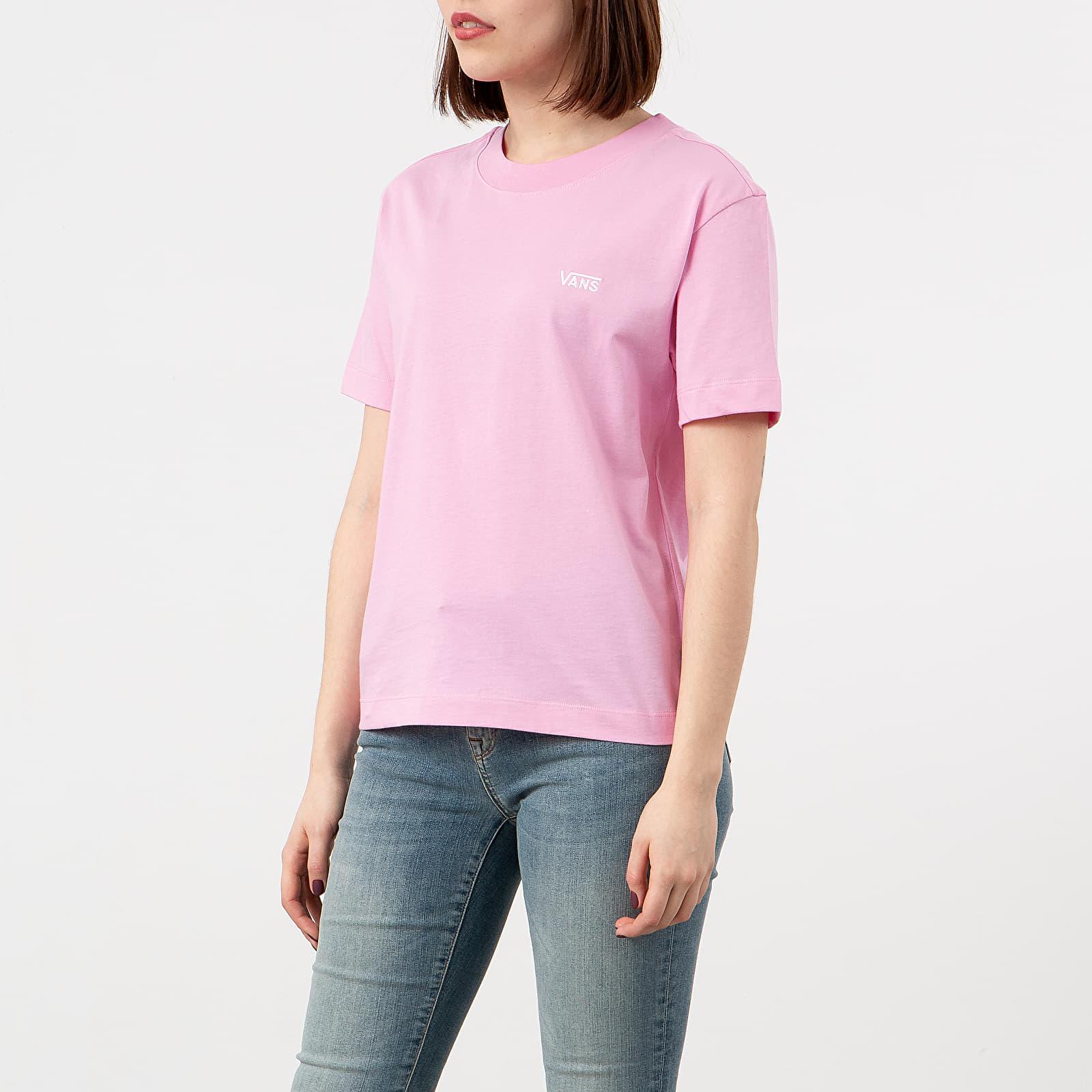Trička Vans Junior V Boxy Tee Fuchsia Pink