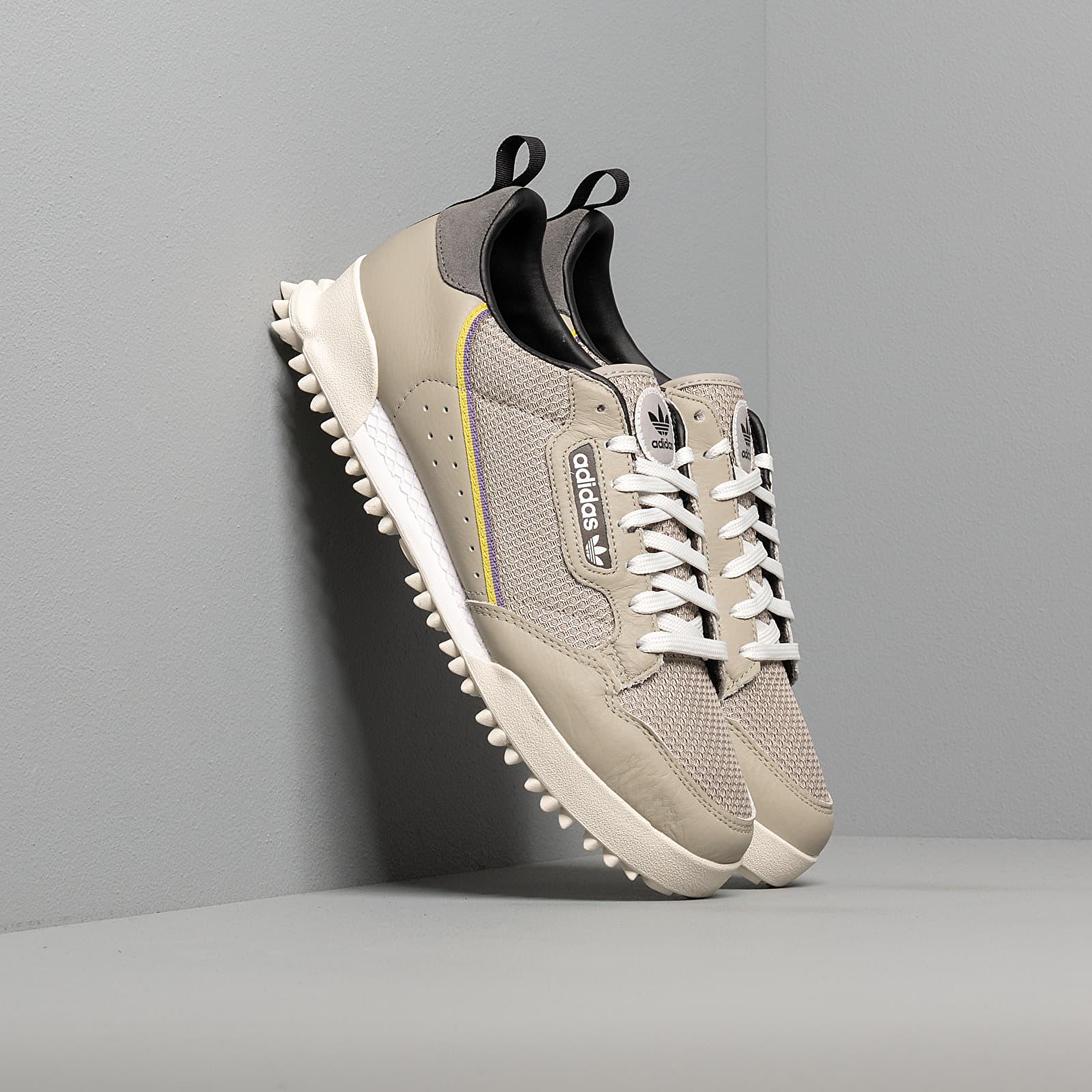 Men's shoes adidas Continental 80 Baara Sesame/ Orb Grey/ Core Black