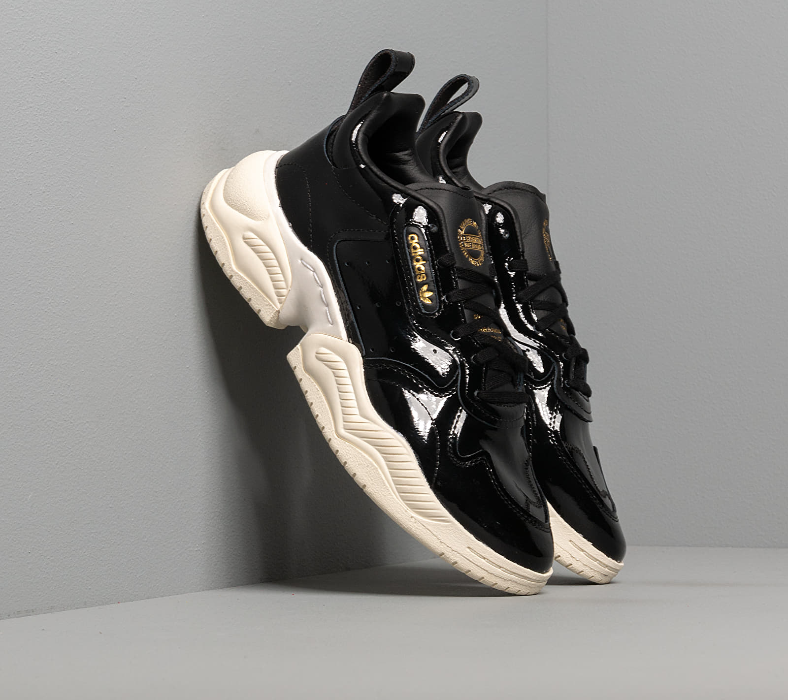 adidas Supercourt RX W Core Black/ Core Black/ Off White EUR 39 1/3