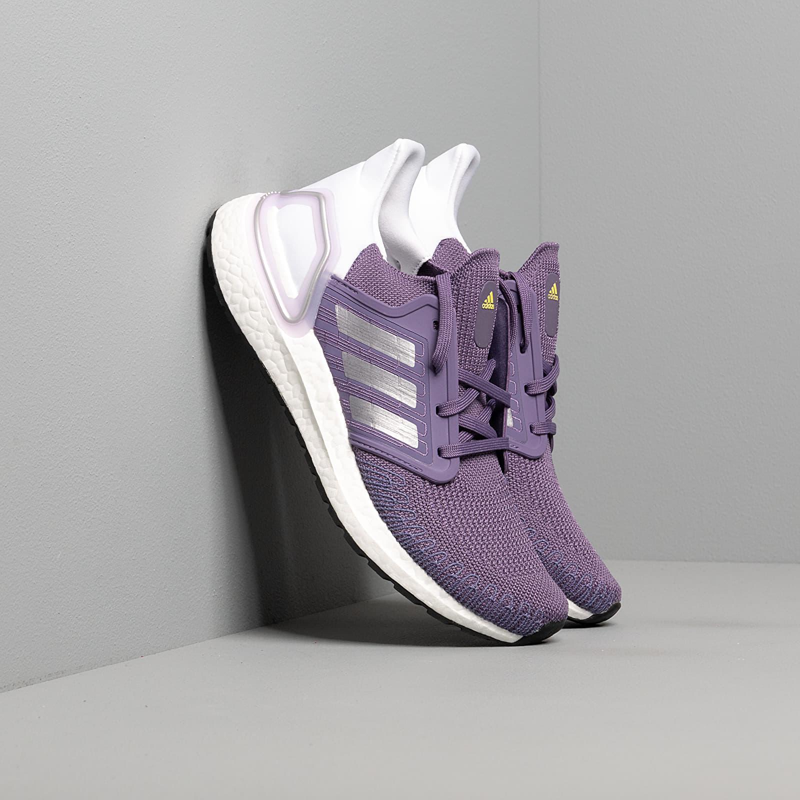 Women's shoes adidas UltraBOOST 20 W Tech Purple/ Silver Metalic/ Ftw White