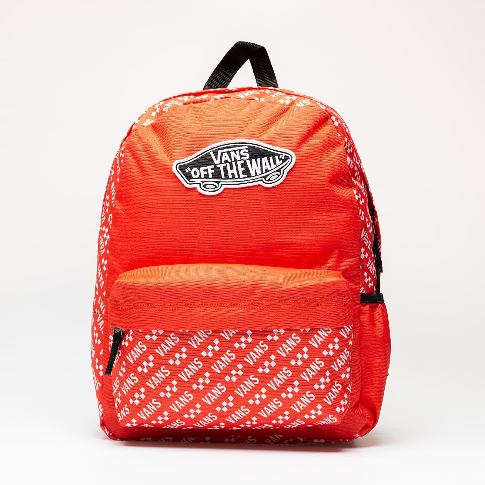 cuestionario Presentador Todo el mundo  Backpacks Vans Street Sport Realm Backpack Grenadine/ Brand