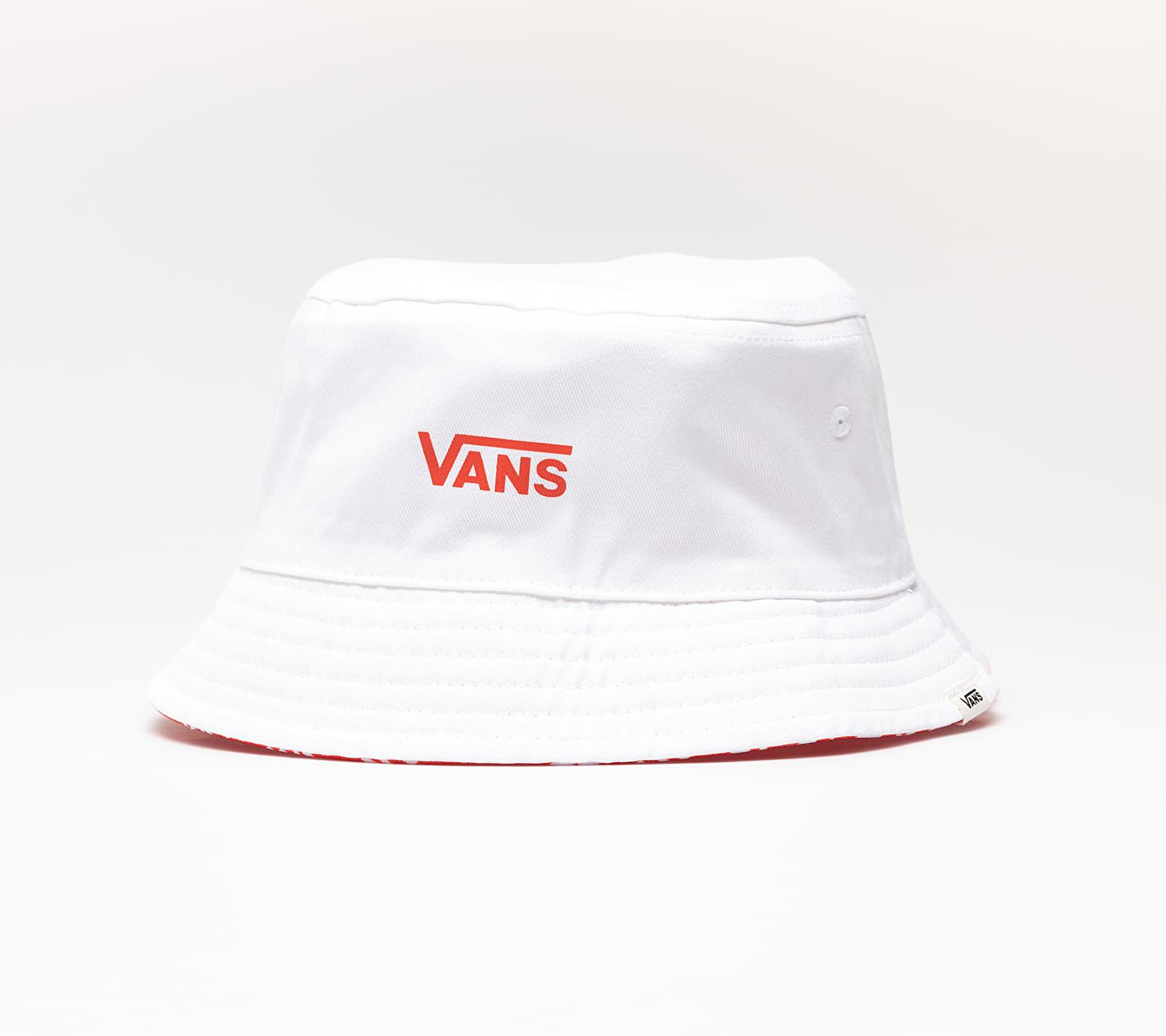 Vans Deluhankley Reversible Bucket Hat Grenadine/ Brand, Red