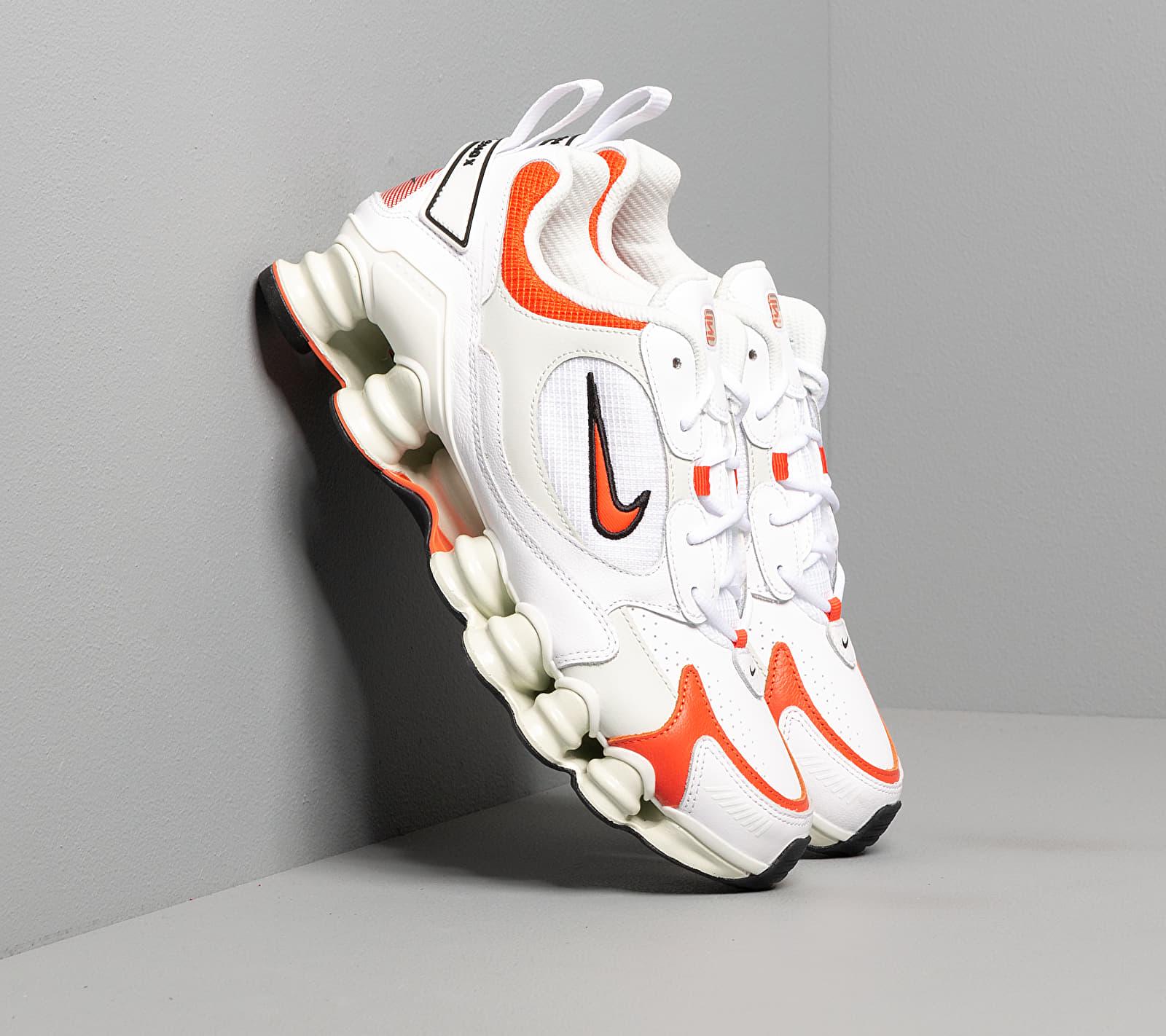 Nike W Shox Tl Nova White/ Team Orange-Spruce Aura-Black EUR 40.5
