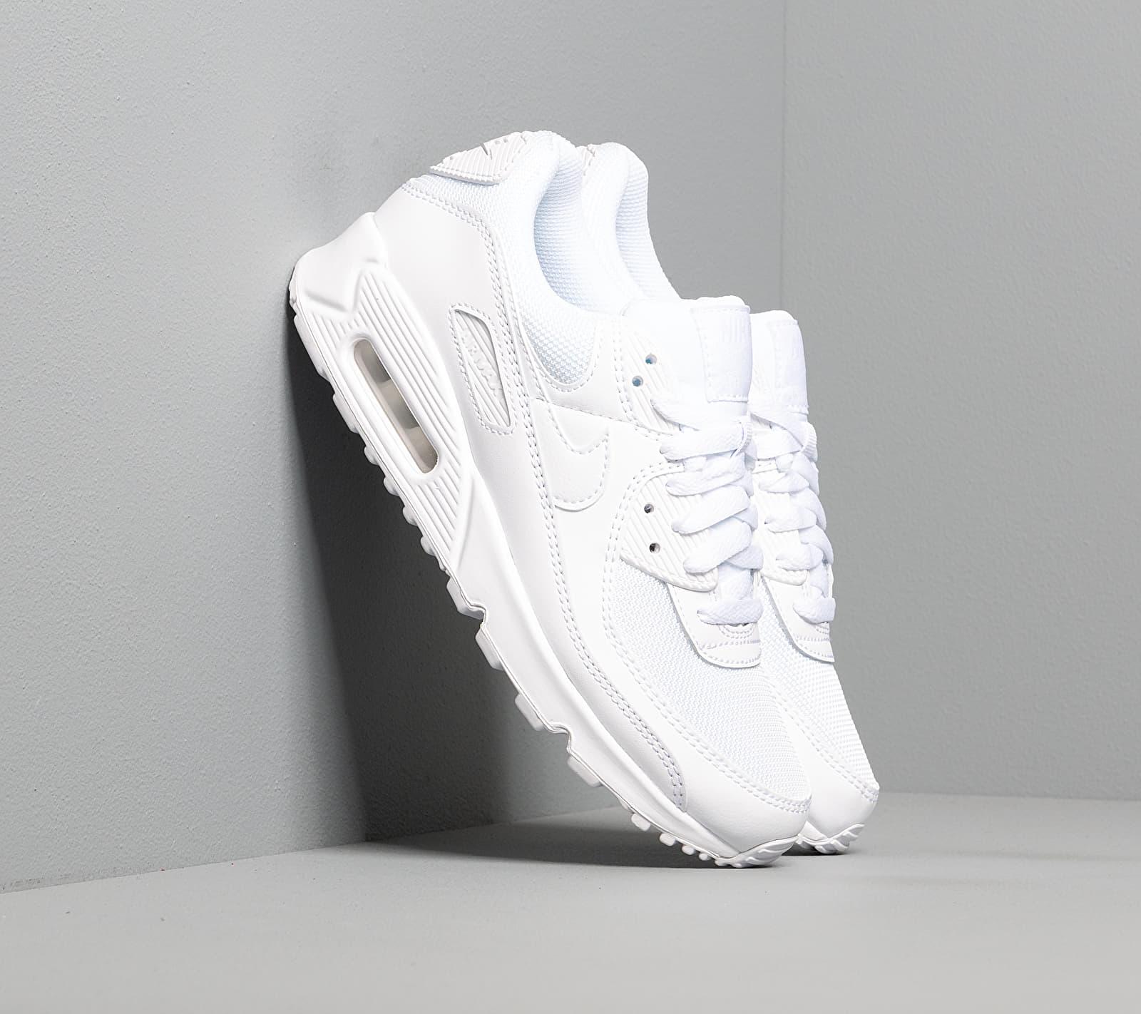 Nike W Air Max 90 White/ White-White-Wolf Grey EUR 41