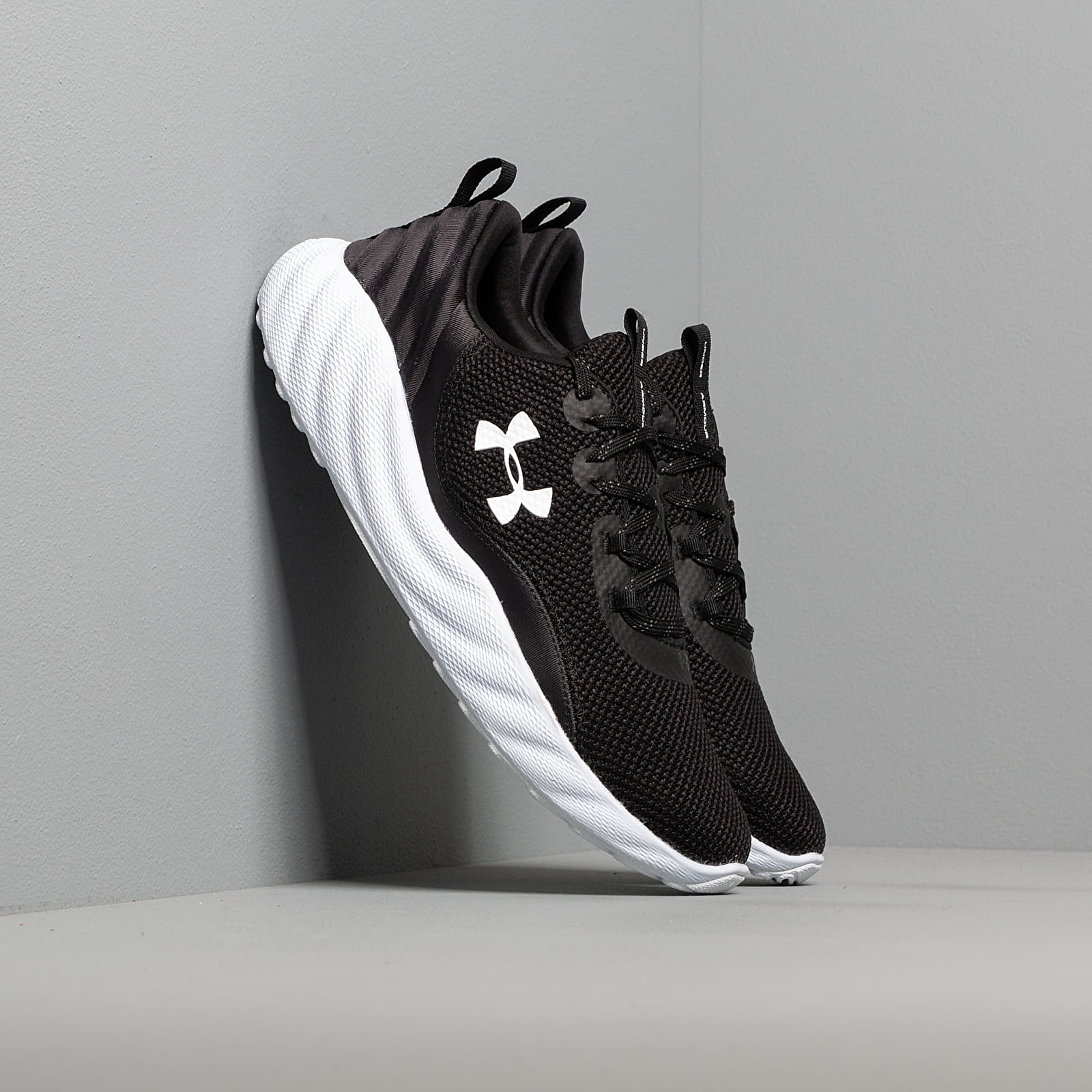 Férfi cipők Under Armour Charged Will Black/ White/ White