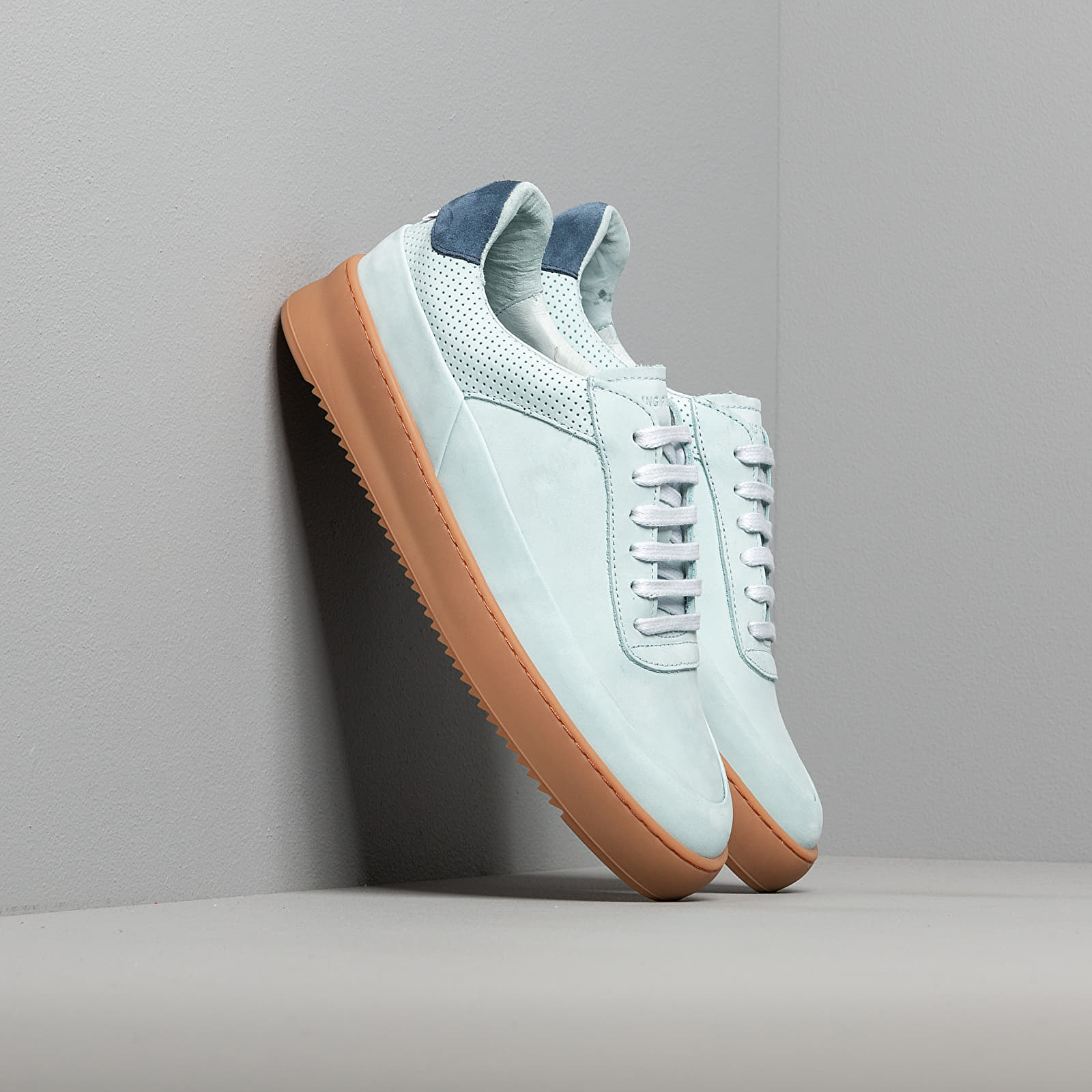 Men's shoes Filling Pieces Mono Ripple Gum Light Blue