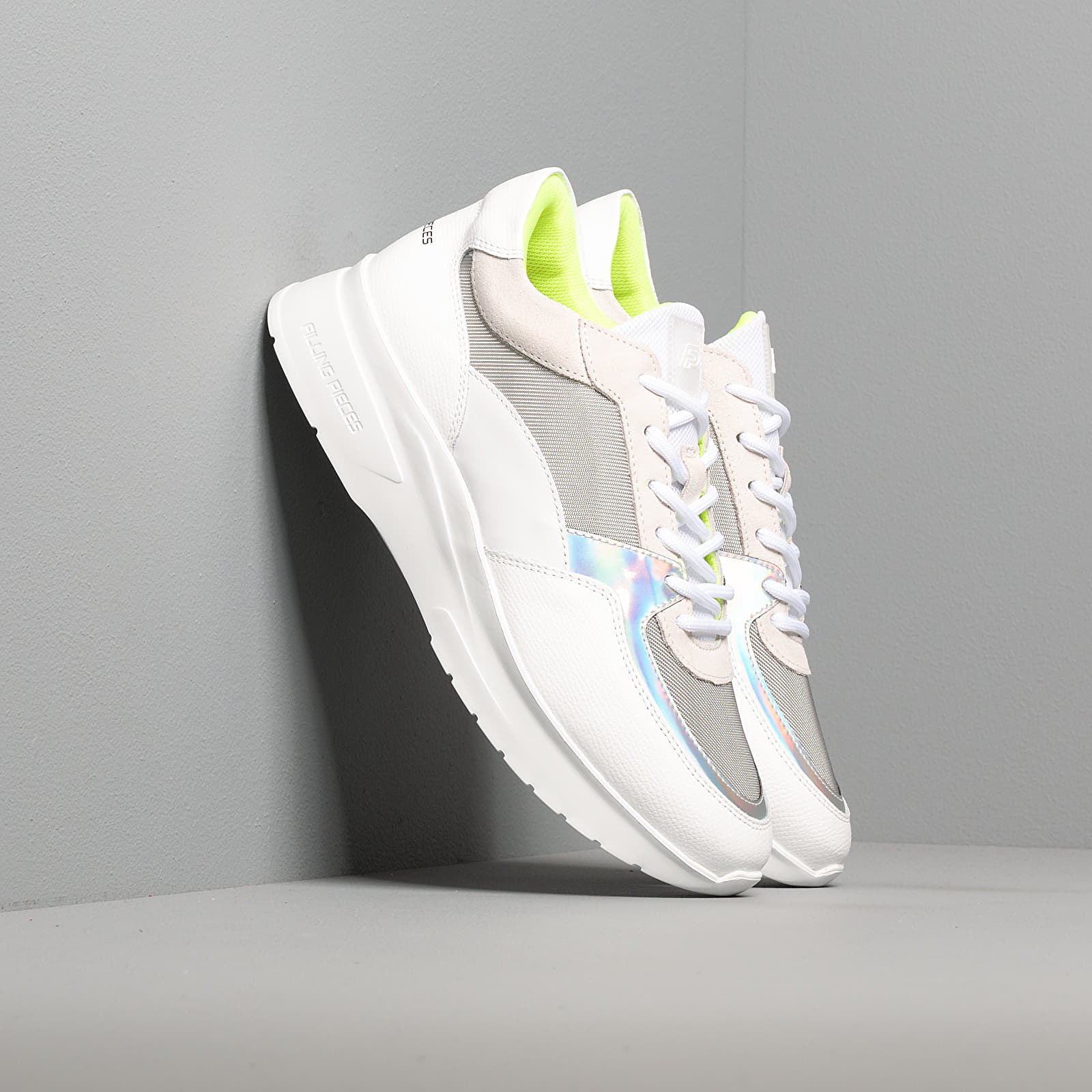 Men's shoes Filling Pieces Low Kyoto Jet Maze White